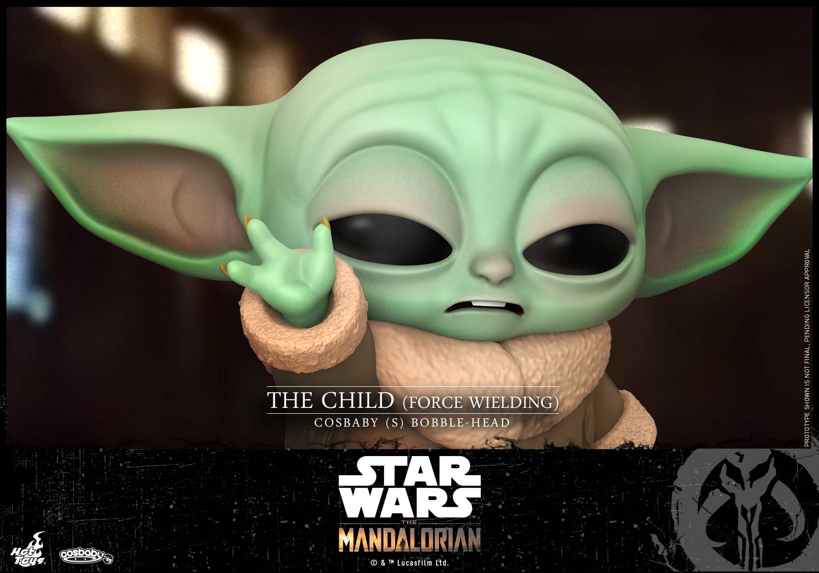 Hot Toys -Mandalorian - The Child (Force Wielding) Cosbaby (S)_PR2