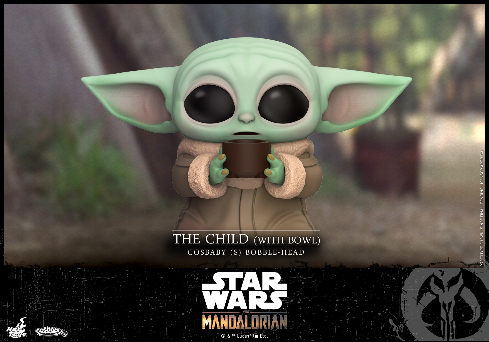 Hot Toys -Mandalorian - The Child (With Bowl) Cosbaby (S)_PR1