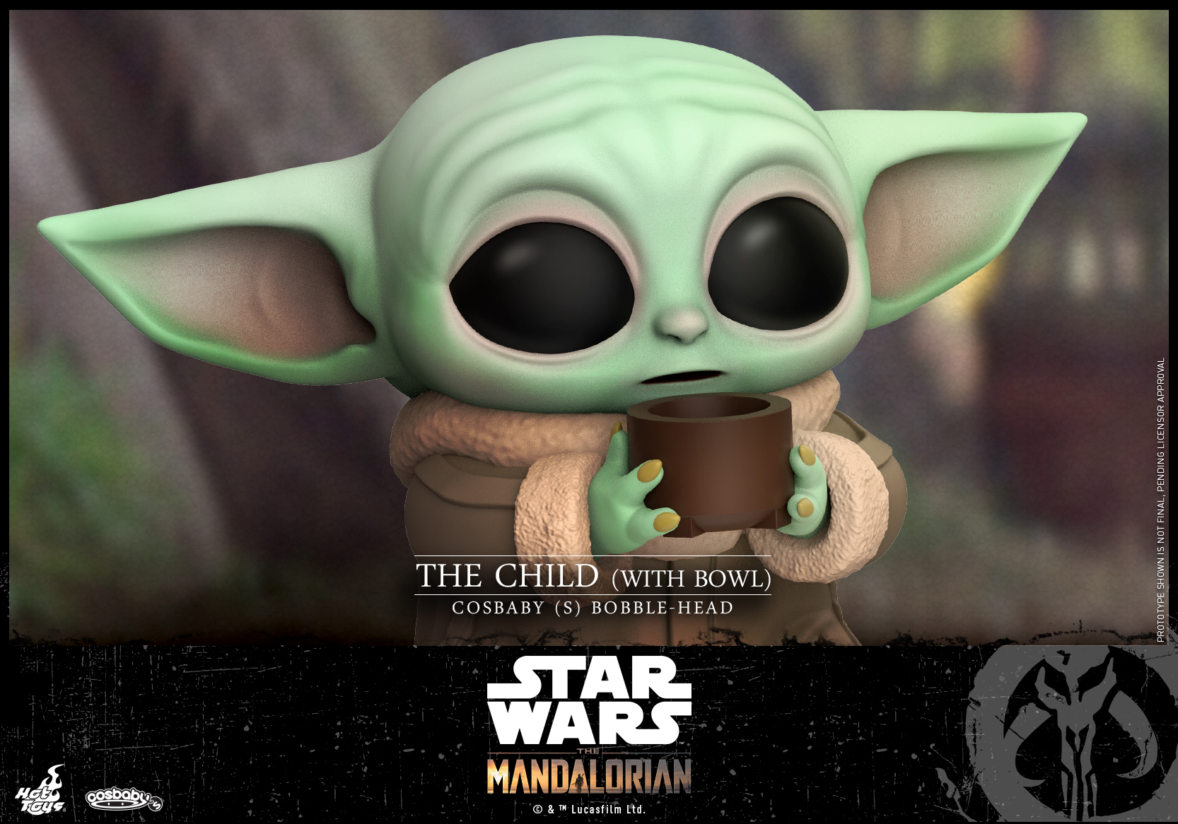 Hot Toys -Mandalorian - The Child (With Bowl) Cosbaby (S)_PR2