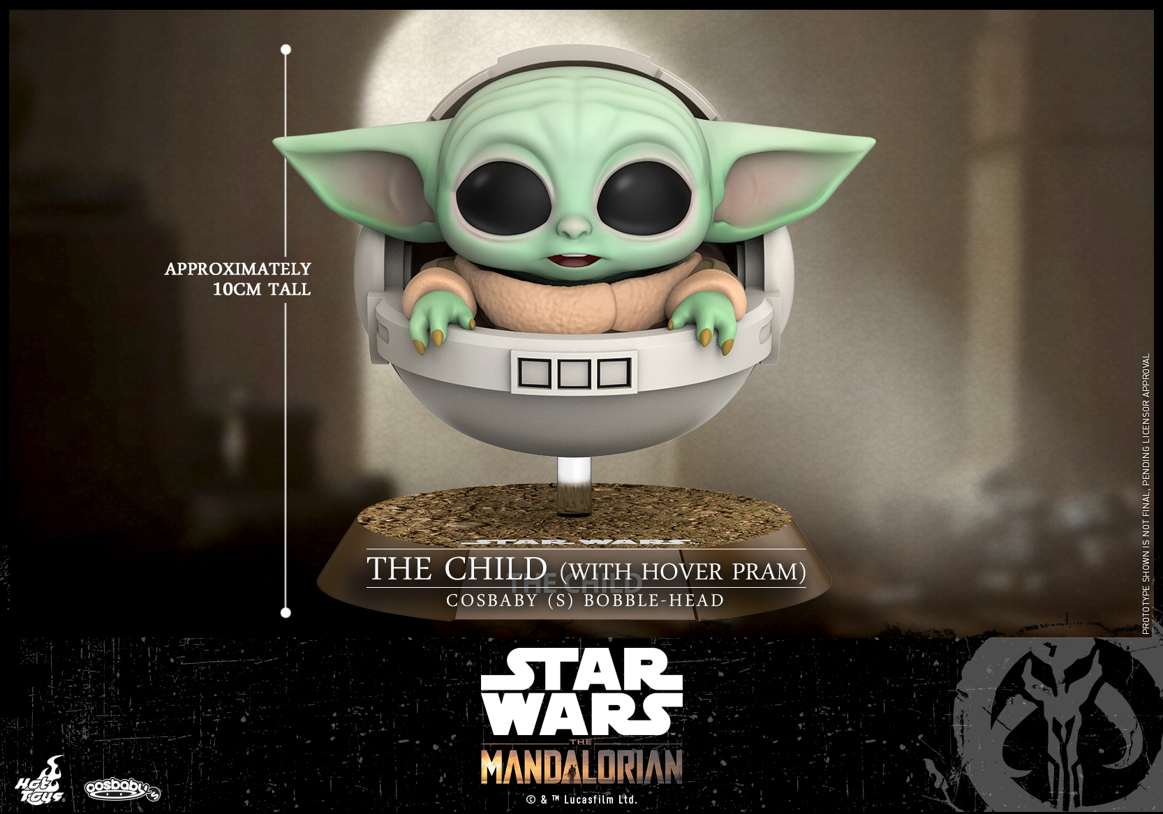 Hot Toys -Mandalorian - The Child (With Hover Pram) Cosbaby (S)_PR1