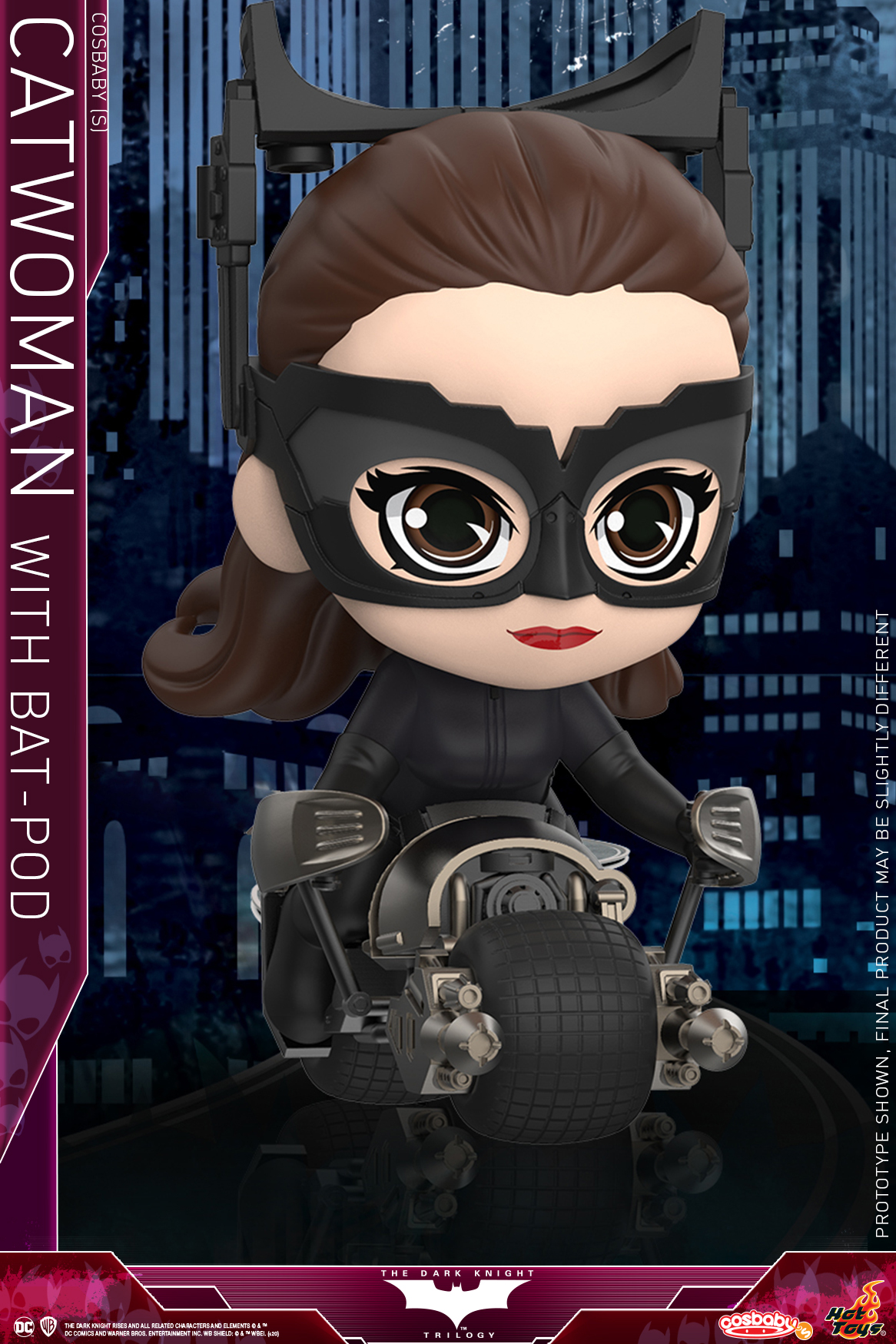 Hot Toys - TDKR - Catwoman with Batpod COSBABY_PR1