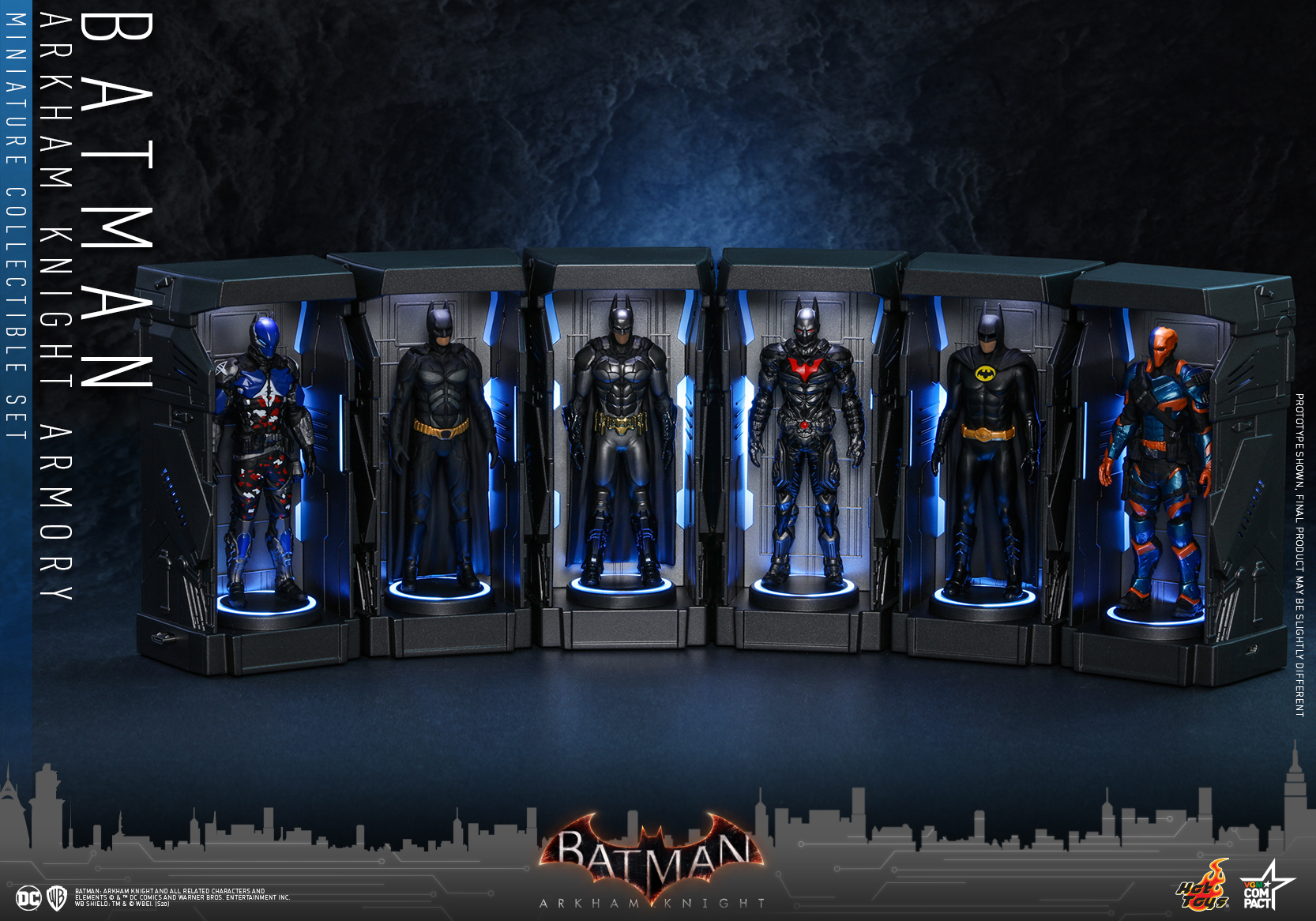 Hot Toys - BAK - Batman Armory Miniature Set_PR1