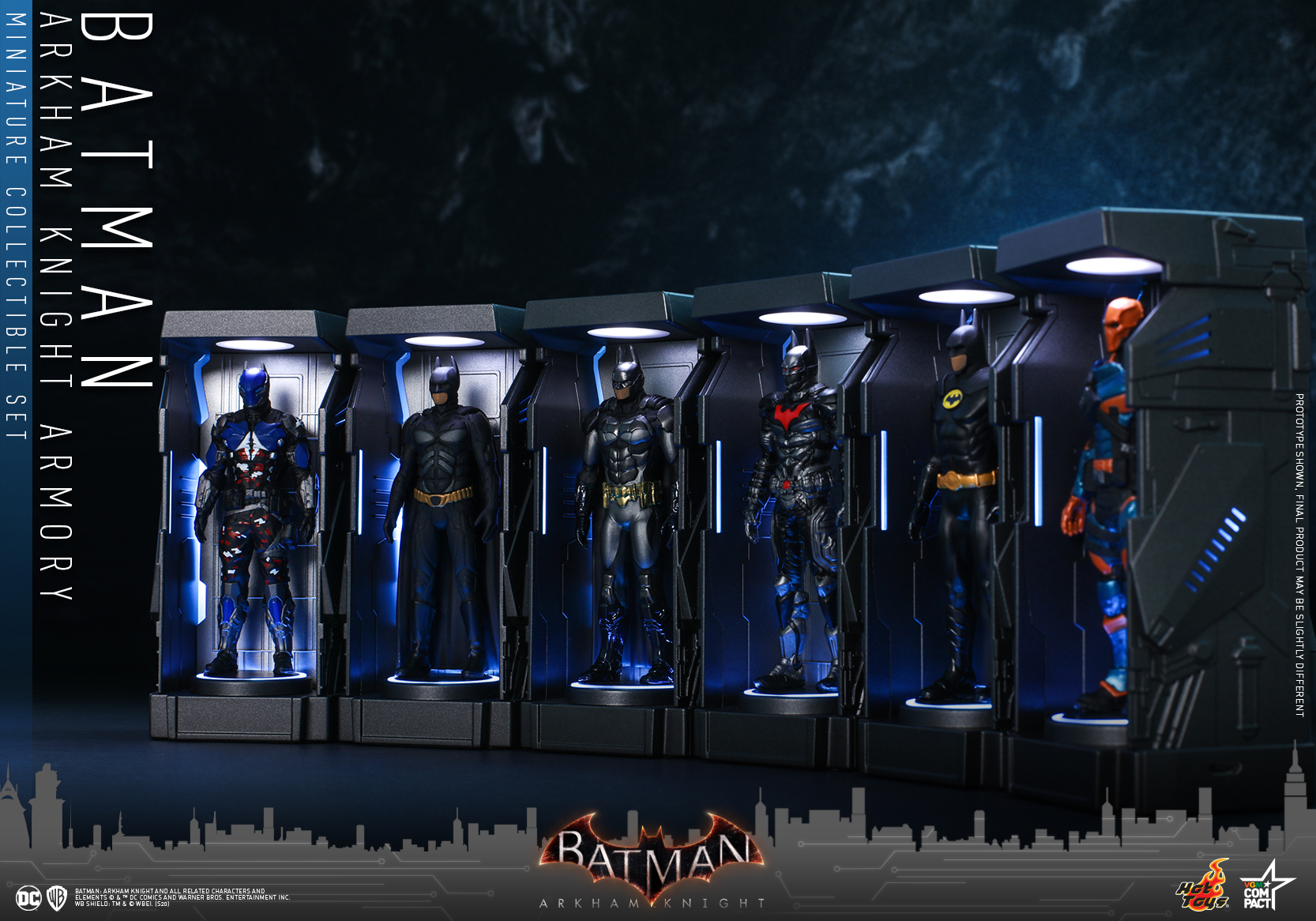 Hot Toys - BAK - Batman Armory Miniature Set_PR4