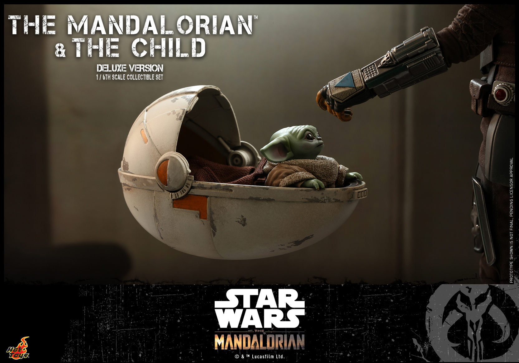Hot Toys - STM - Mandalorian and Child Collectible Set (Deluxe)_PR13