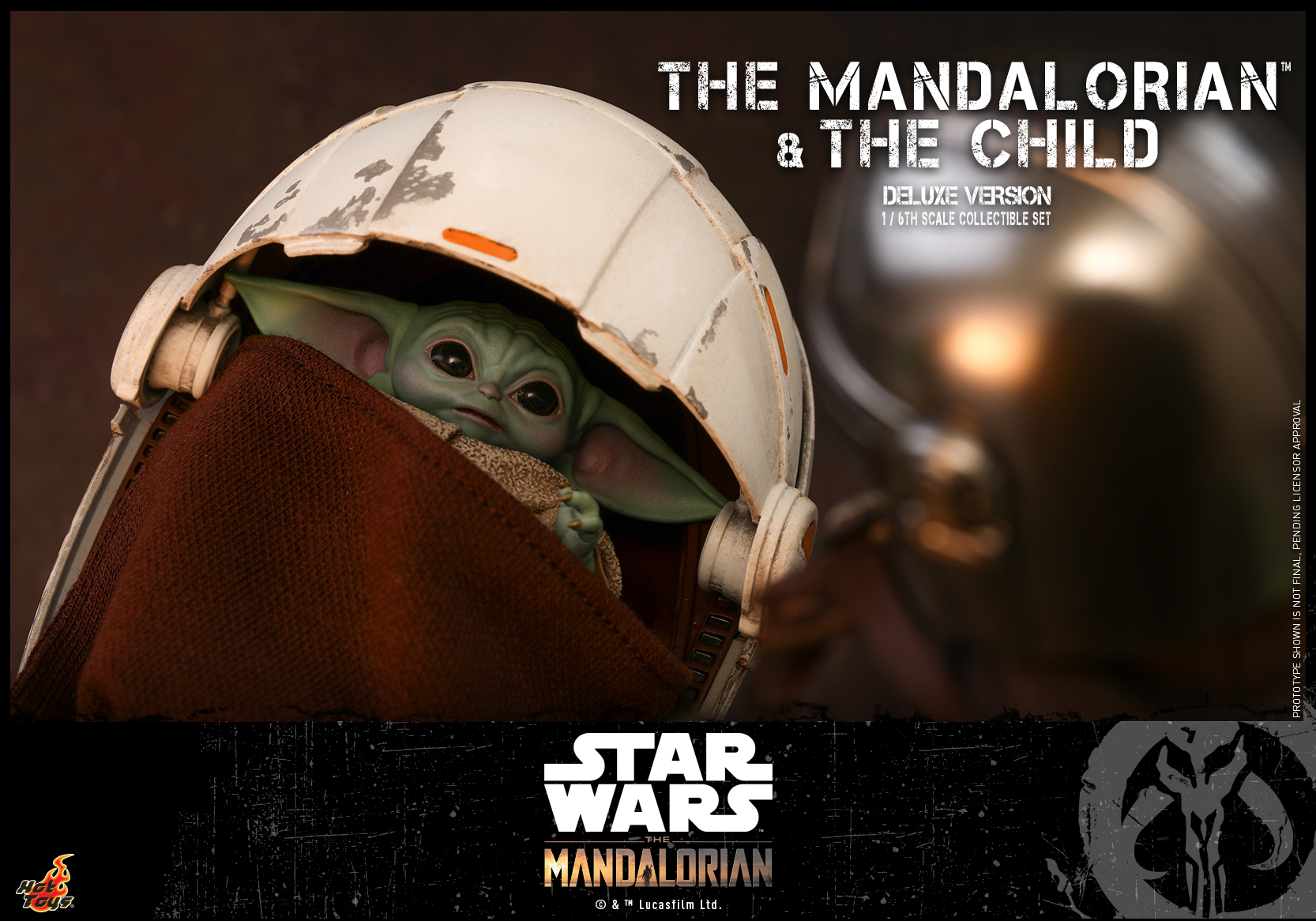 Hot Toys - STM - Mandalorian and Child Collectible Set (Deluxe)_PR17