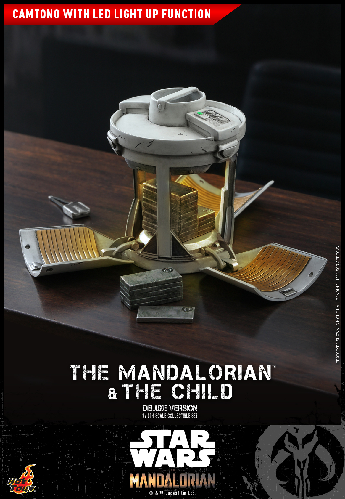 Hot Toys - STM - Mandalorian and Child Collectible Set (Deluxe)_PR22