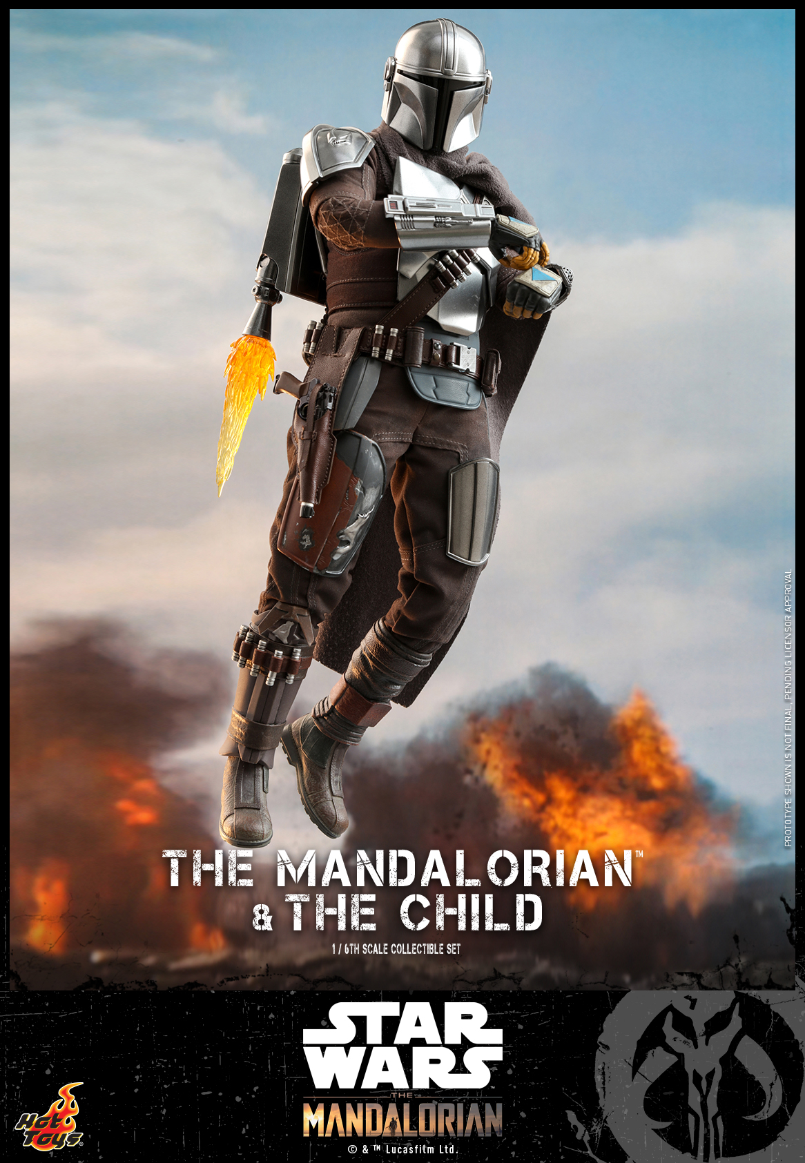 Hot Toys - STM - Mandalorian and Child Collectible Set_PR4