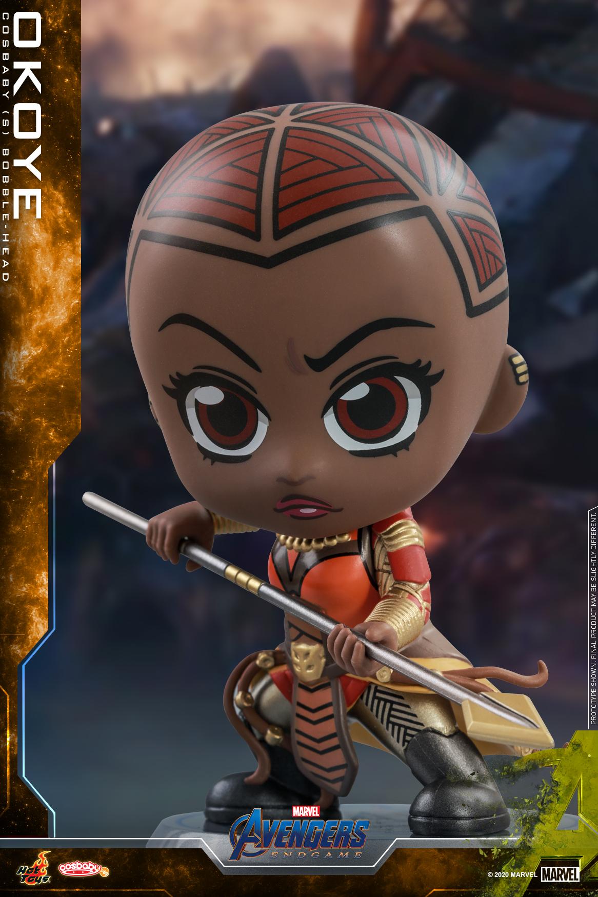 Hot Toys - Avengers Endgame -Okoye Cosbaby_PR2