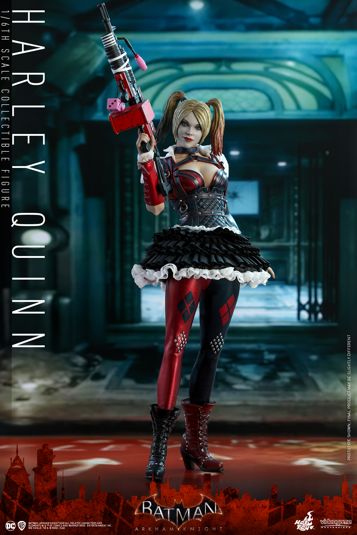 Hot Toys - Batman Arkham Knight - Harley Quinn - PR16