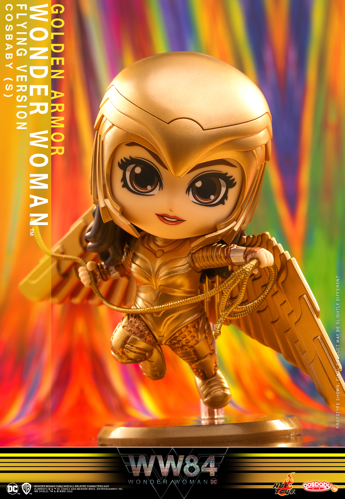 Hot Toys - WW84 - Golden Armor Wonder Woman (Flying Version) Cosbaby_PR1
