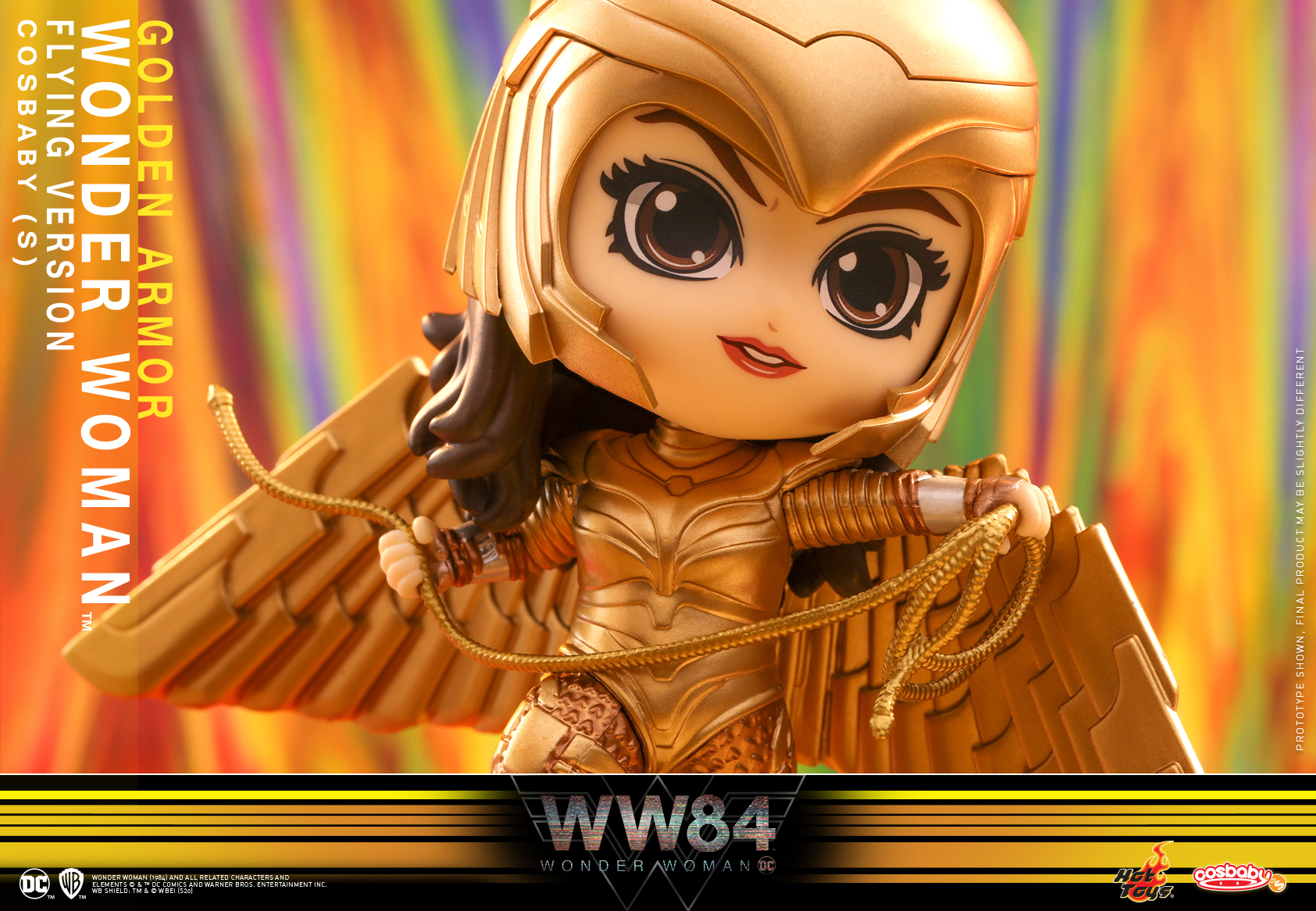 Hot Toys - WW84 - Golden Armor Wonder Woman (Flying Version) Cosbaby_PR3
