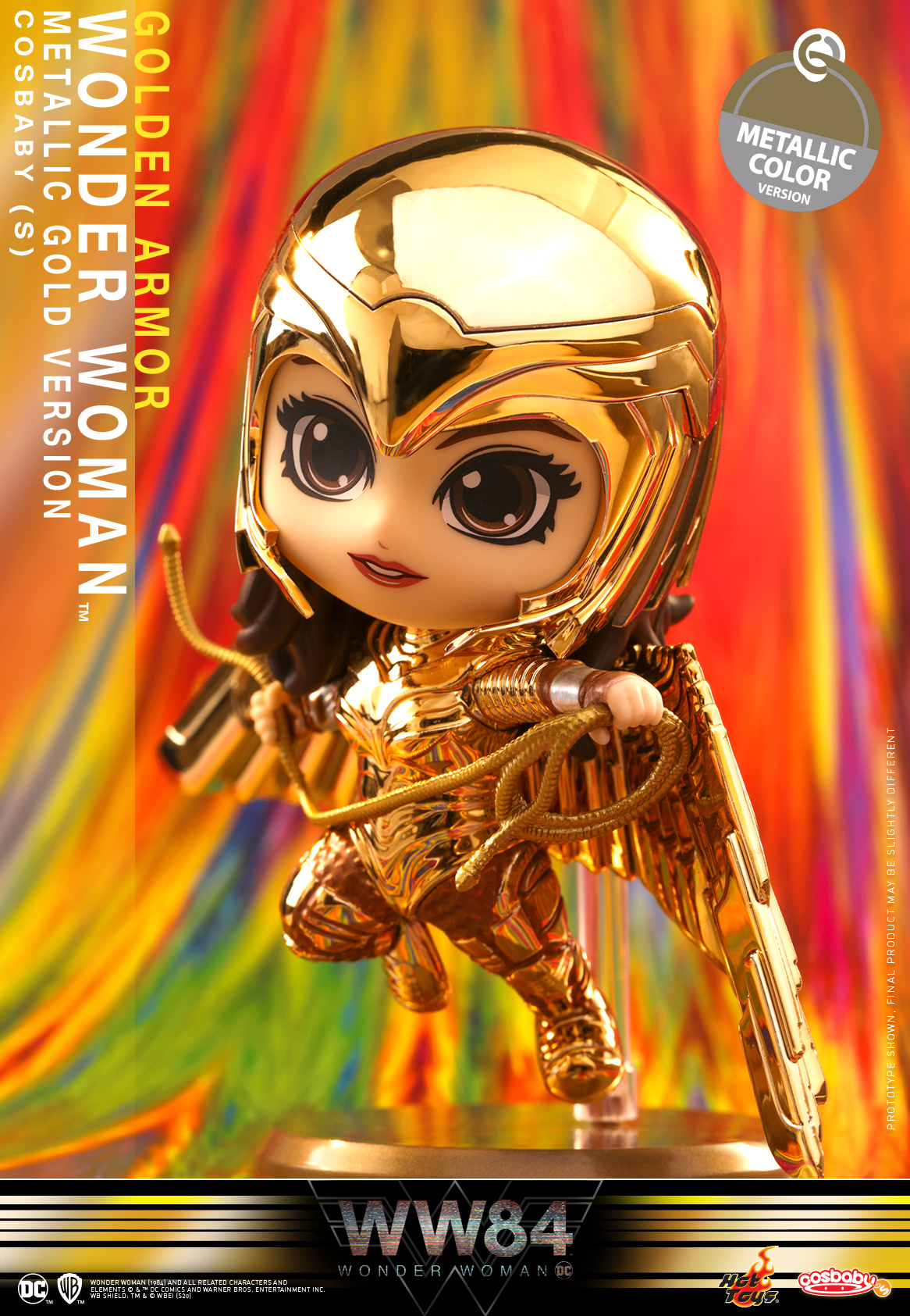 Hot Toys - WW84 - Golden Armor Wonder Woman (Metallic Colour Version) Cosbaby_PR1