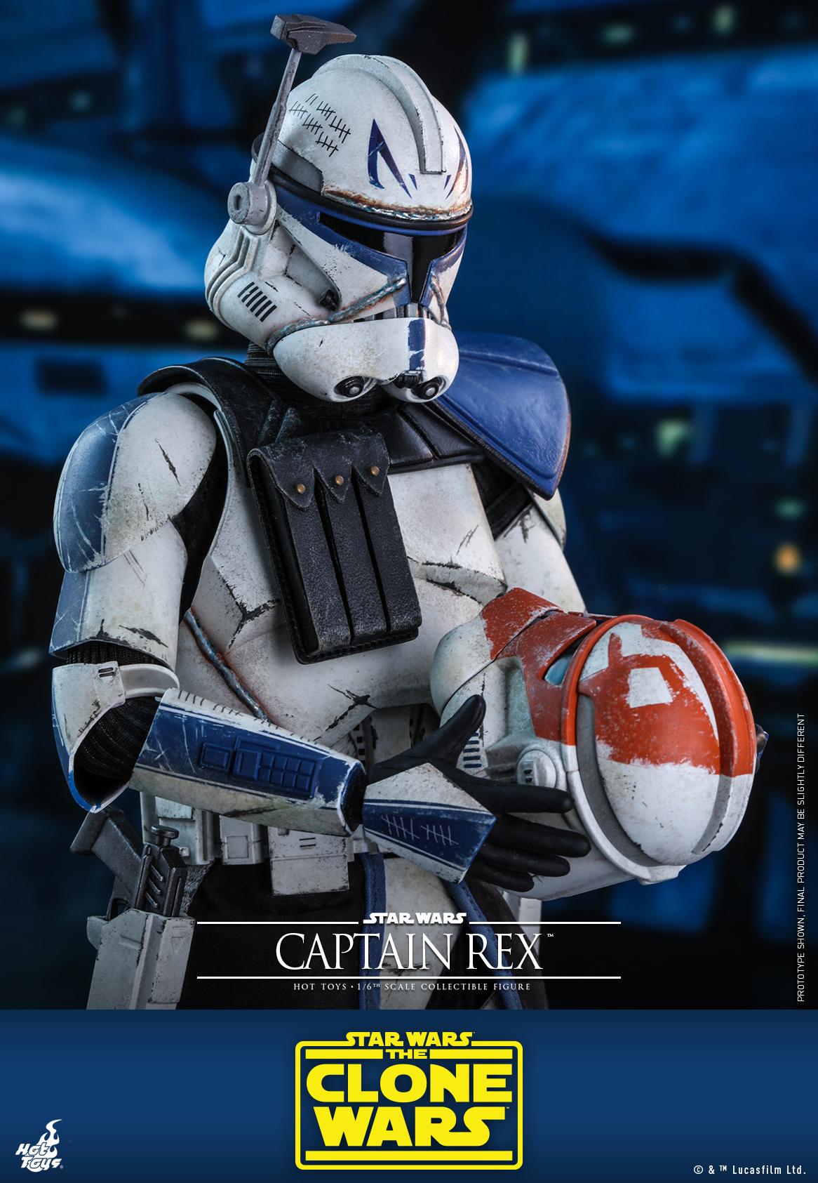 Hot Toys - SWCW - Captain Rex Collectible Figure_PR15