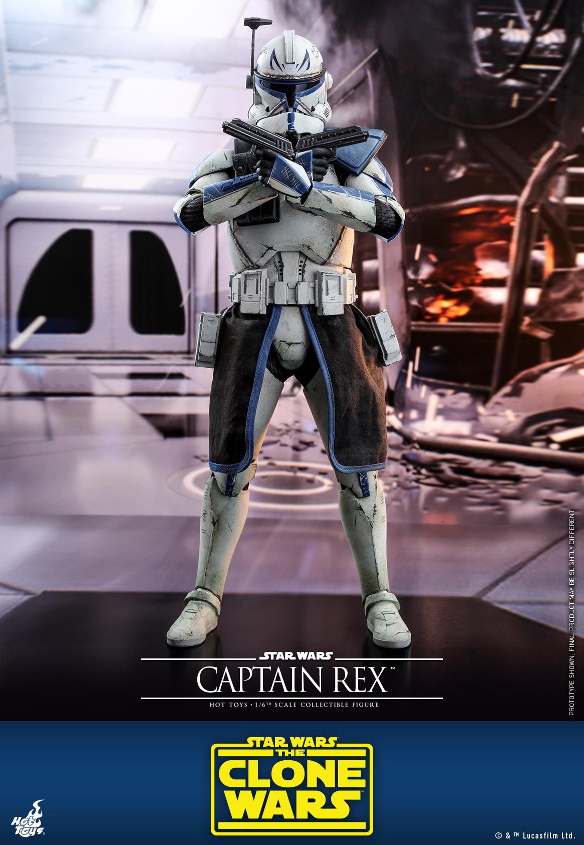 Hot Toys - SWCW - Captain Rex Collectible Figure_PR2