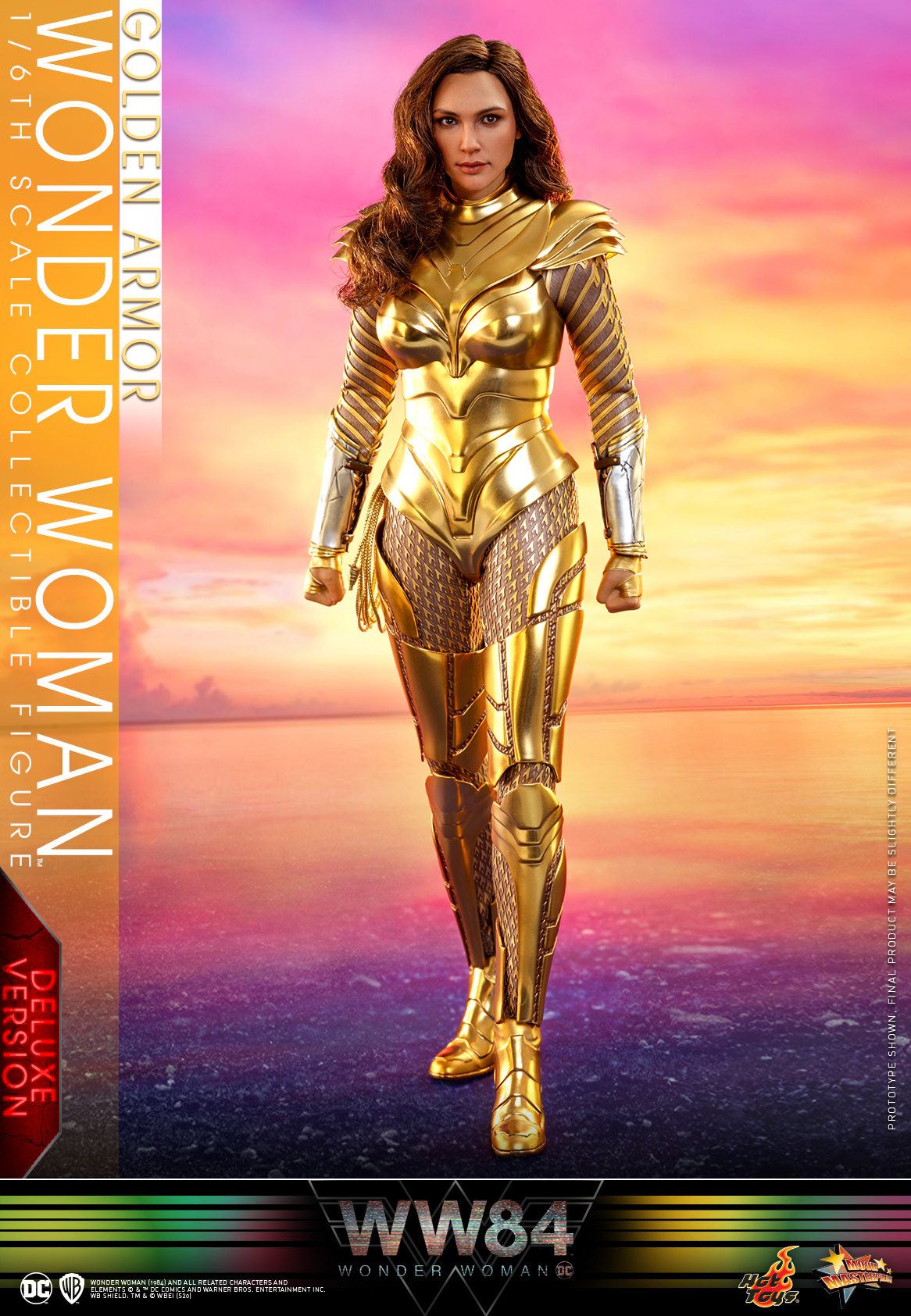 Hot Toys - WW84 - Golden Armor Wonder Woman collectible figure (Deluxe)_PR2