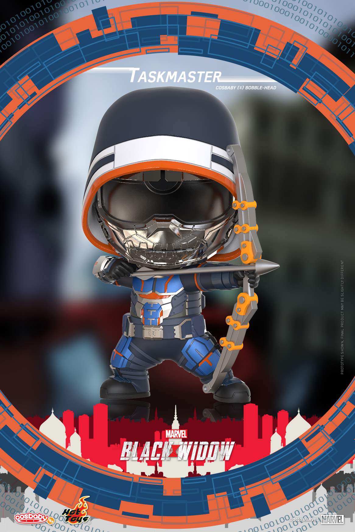 Hot Toys - Black Widow - Taskmaster Cosbaby (S) Bobble-Head_PR1