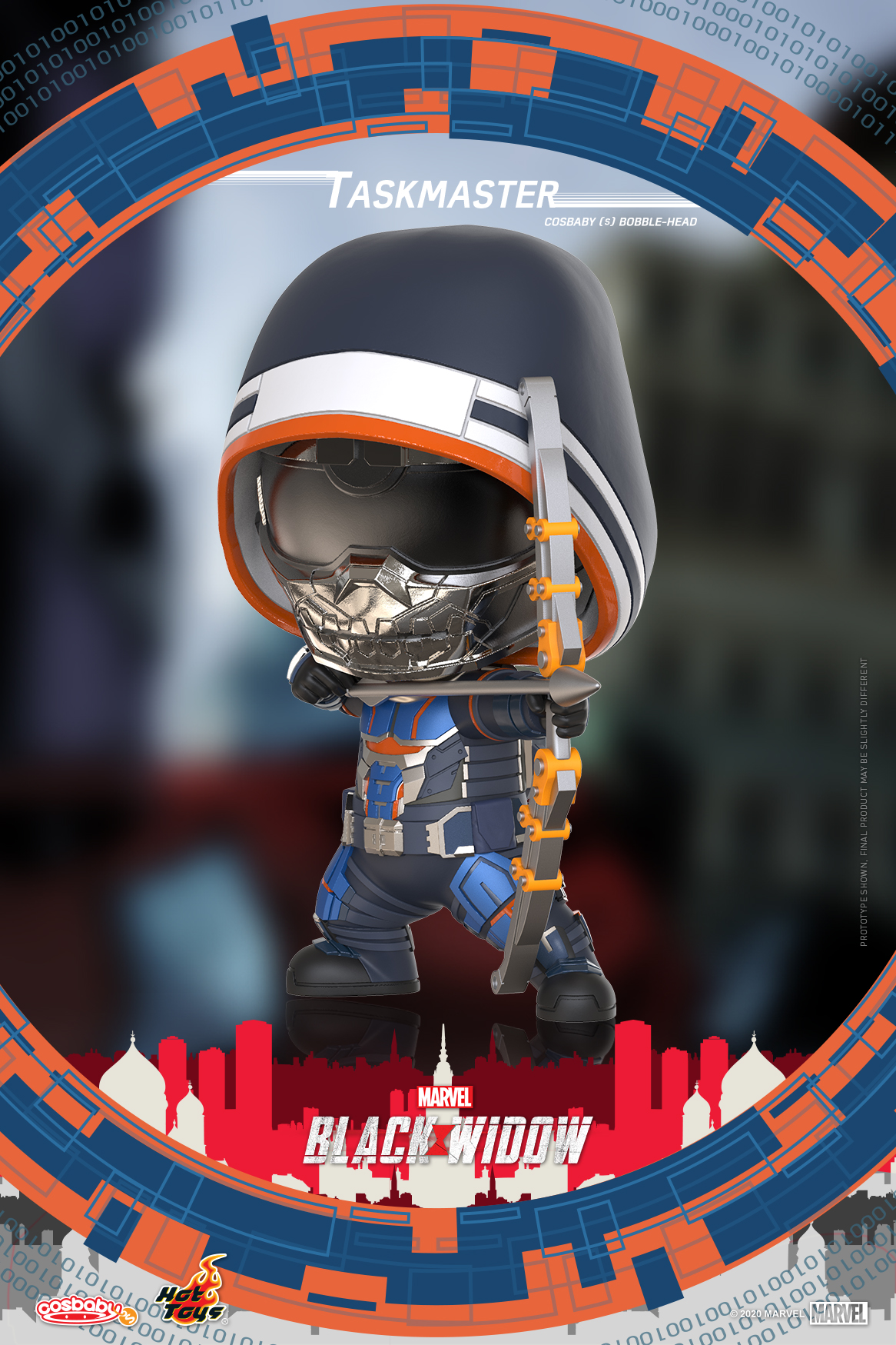 Hot Toys - Black Widow - Taskmaster Cosbaby (S) Bobble-Head_PR2