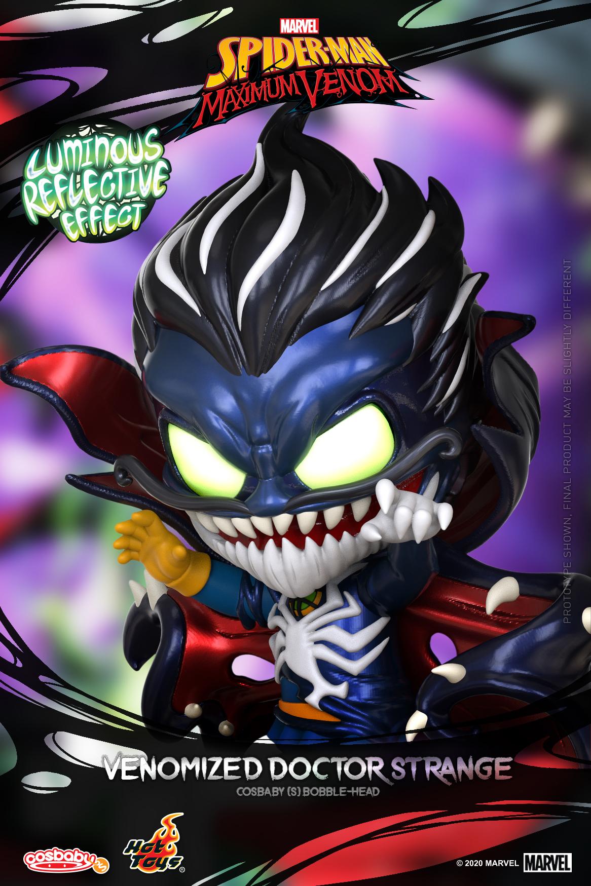 Hot Toys - SMMV - Venomized Doctor Strange Cosbaby_PR2