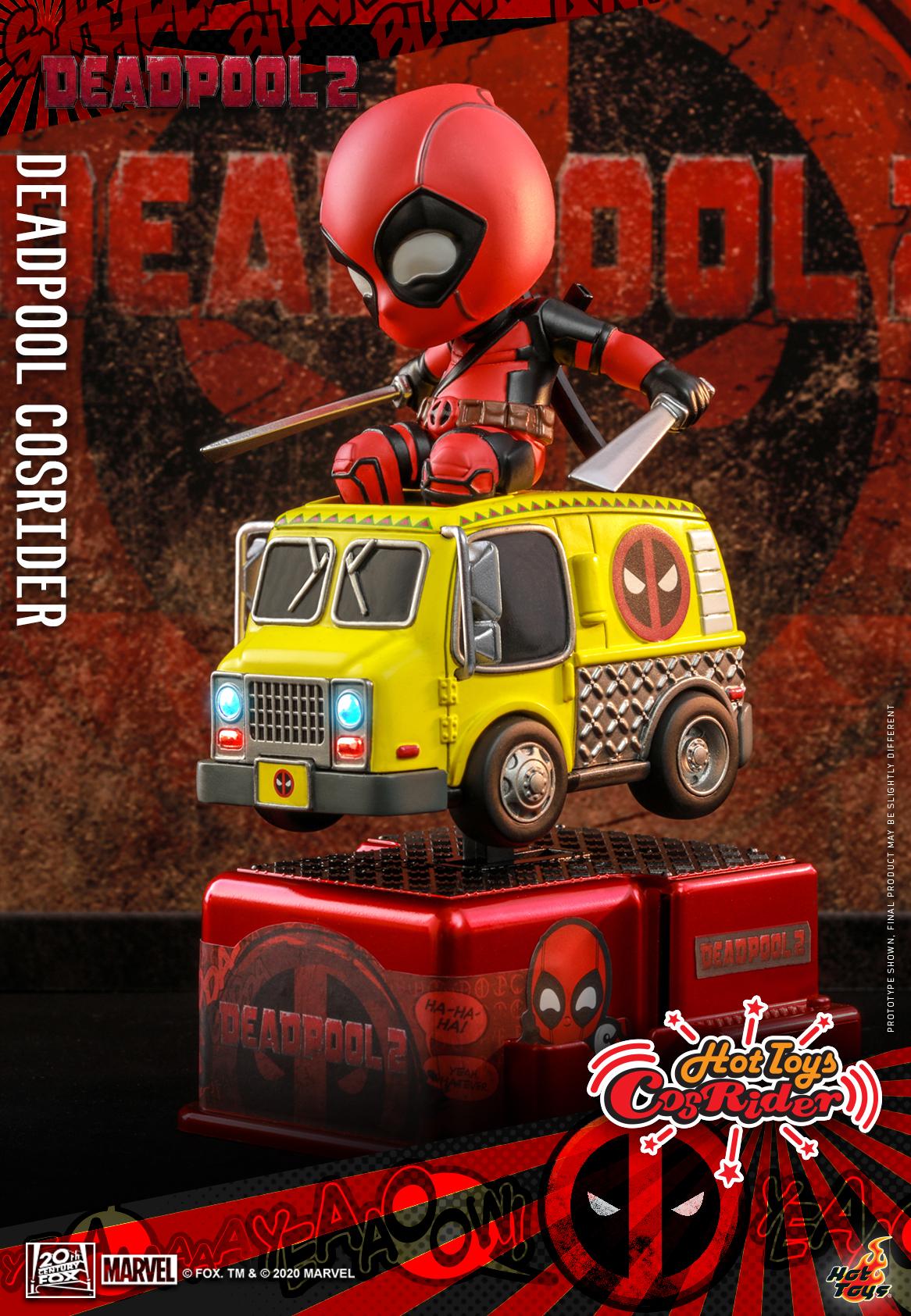 Hot Toys - Deadpool 2 - Deadpool CosRider_PR1