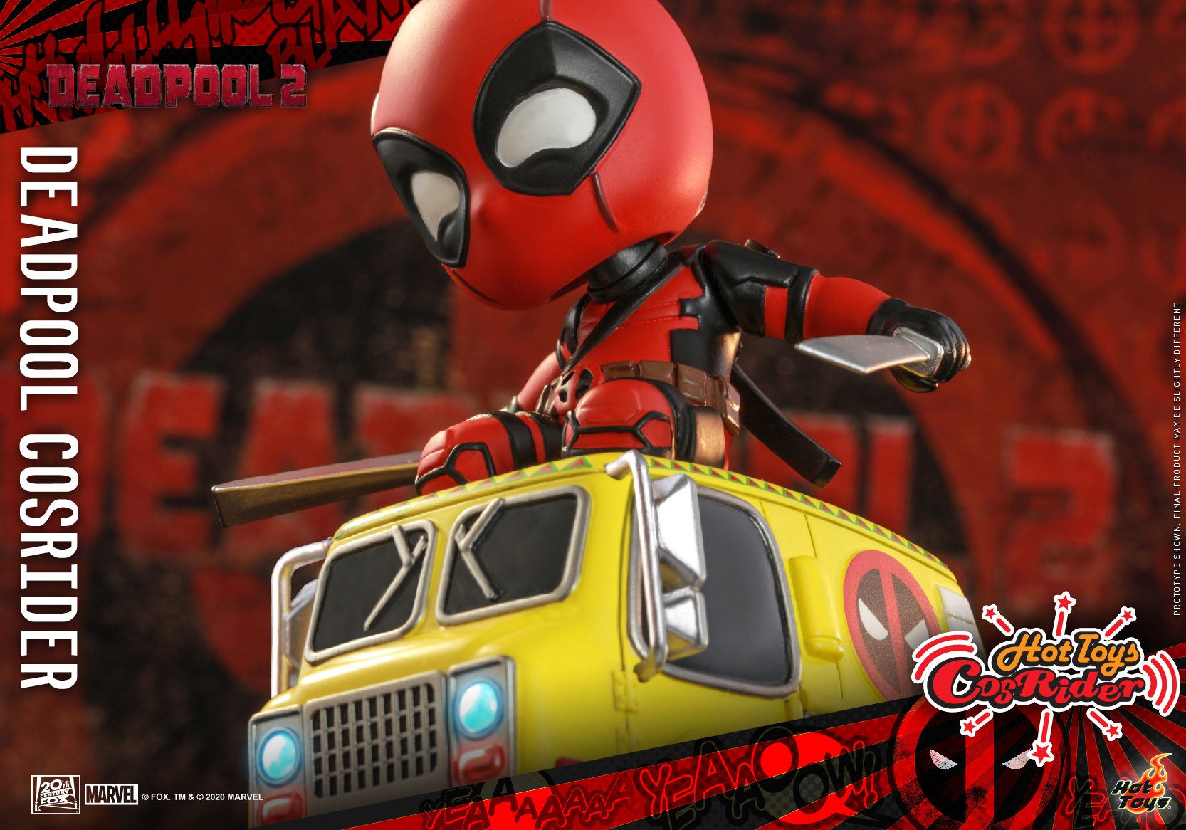 Hot Toys - Deadpool 2 - Deadpool CosRider_PR3