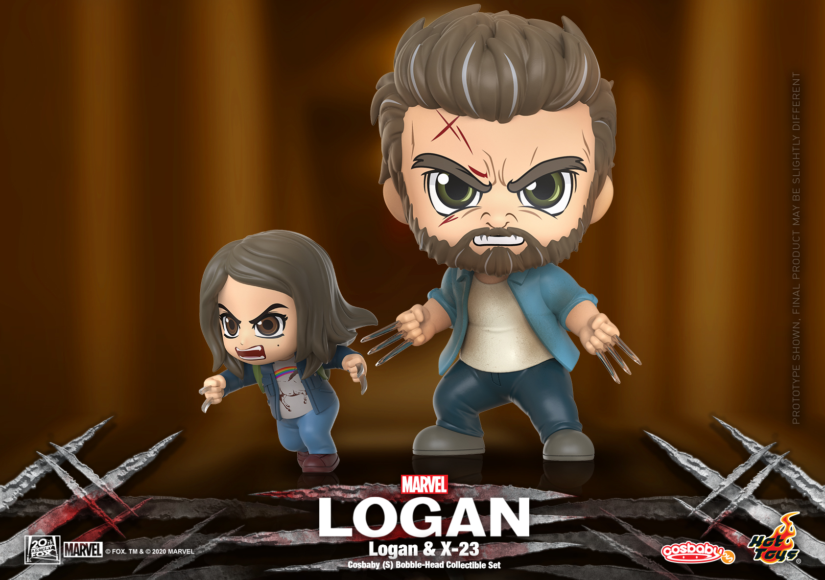 Hot Toys - Logan - Logan and X-23 Cosbaby Set_PR1
