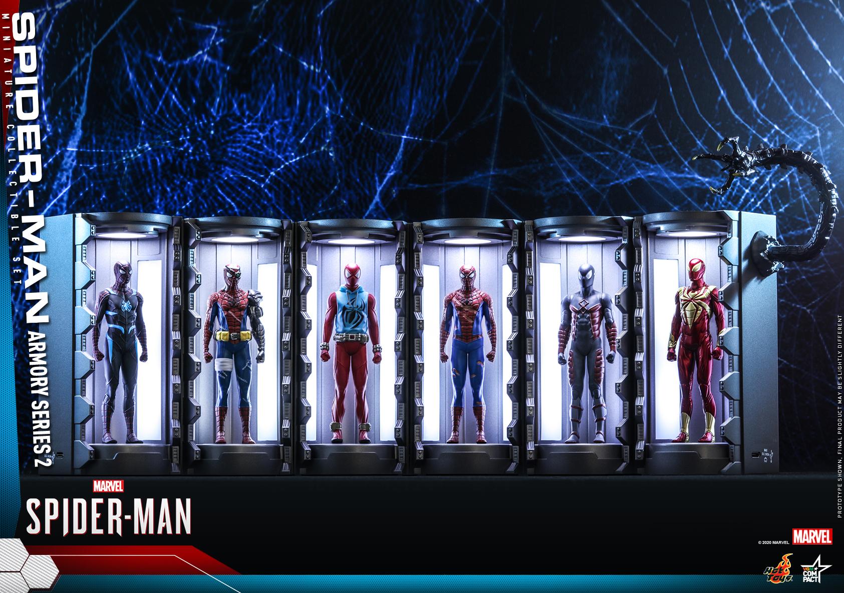 Hot Toys - SM - Spider-Man Armory Miniature Collectible Set_PR1