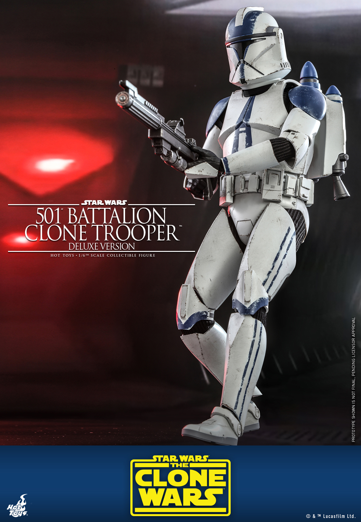 Hot Toys - SWCW - 501 Battalion Clone Trooper collectible figure (Deluxe)_PR5