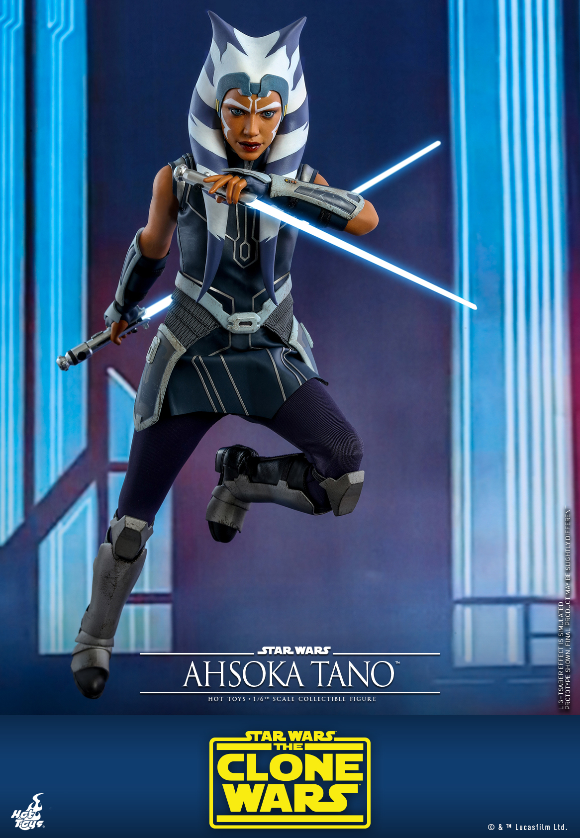 Hot Toys - SWCW - Ahsoka Tano collectible figure_PR4