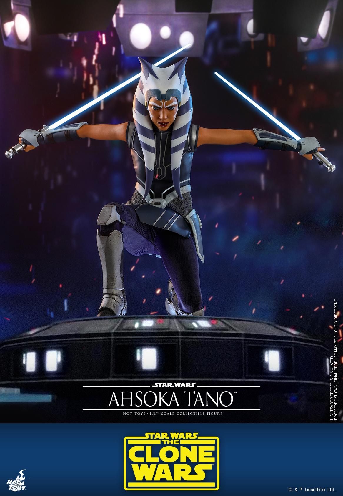 Hot Toys - SWCW - Ahsoka Tano collectible figure_PR9