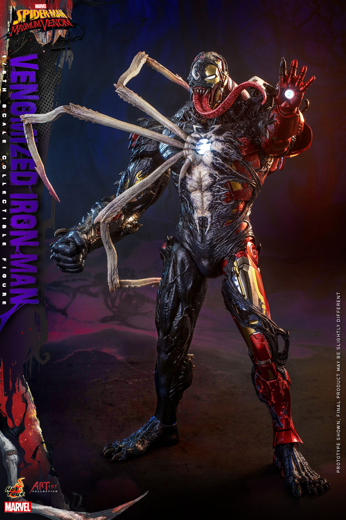 Hot Toys - AC - SMMV - Venomized Iron Man collectible figure_PR2