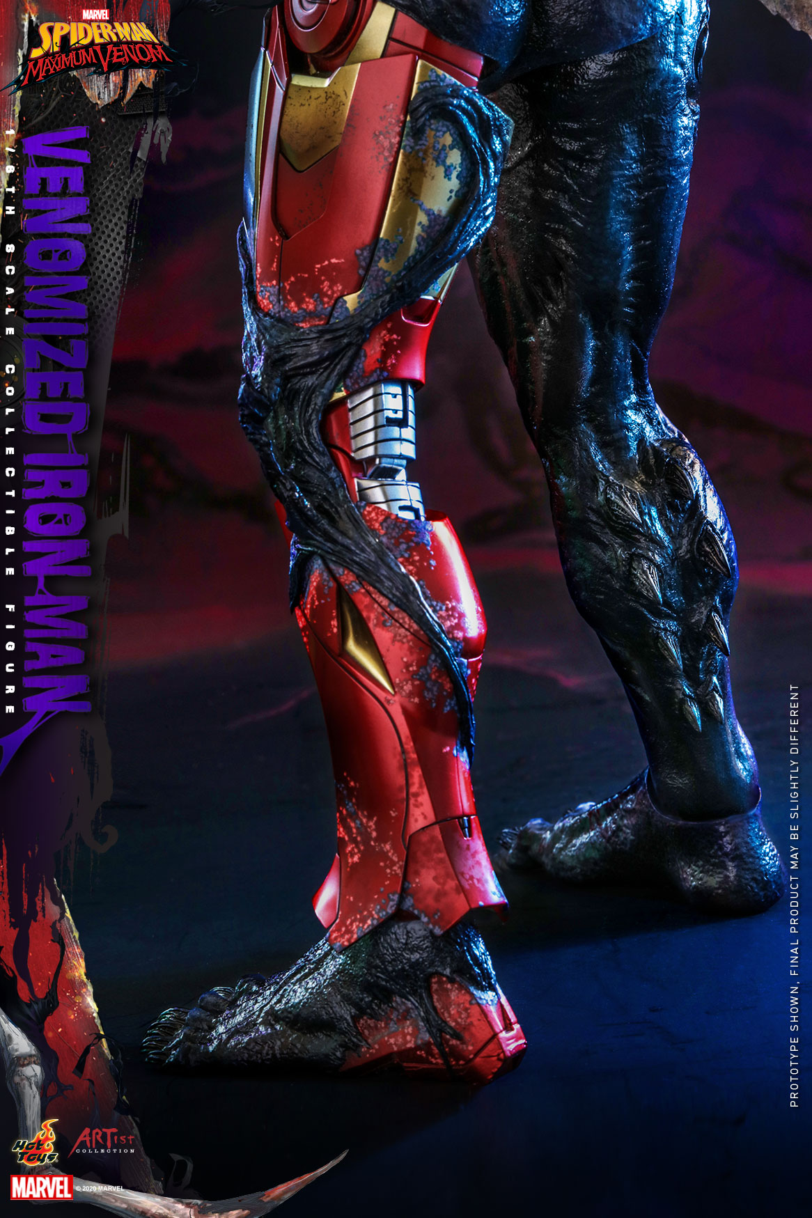 Hot Toys - AC - SMMV - Venomized Iron Man collectible figure_PR24