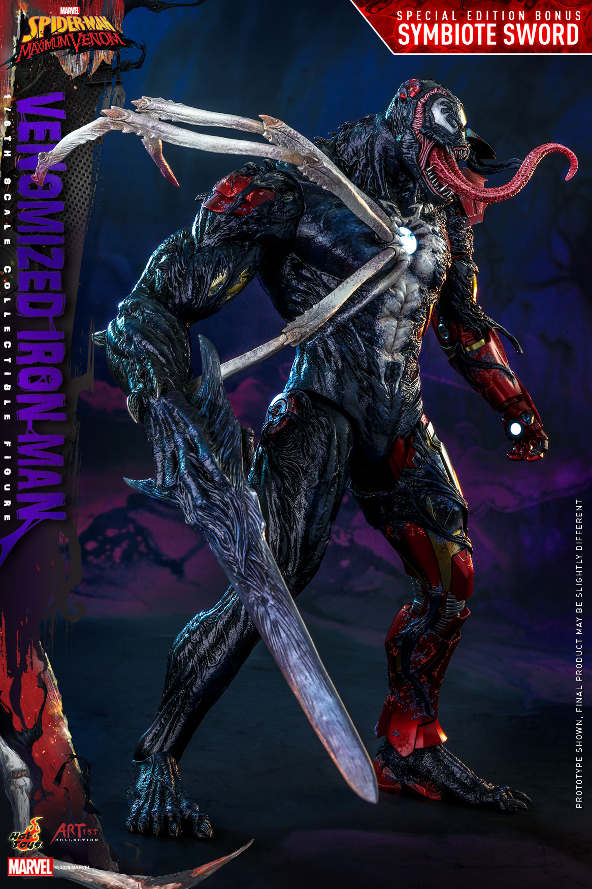 Hot Toys - AC - SMMV - Venomized Iron Man collectible figure_PR8 (Special)