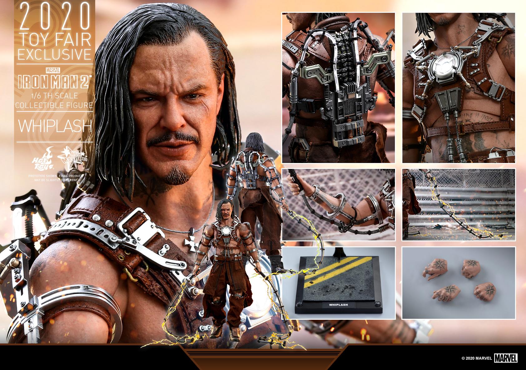 Hot Toys - Iron Man 2 - Whiplash collectible figure_PR18