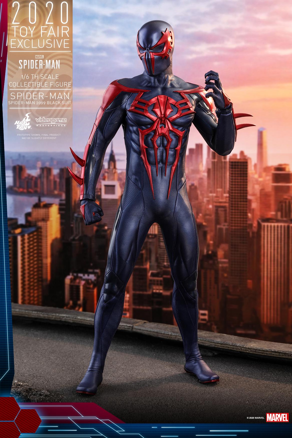 Hot Toys - MSM - Spider-Man (Spider-Man 2099 Black Suit) collectible figure_PR1
