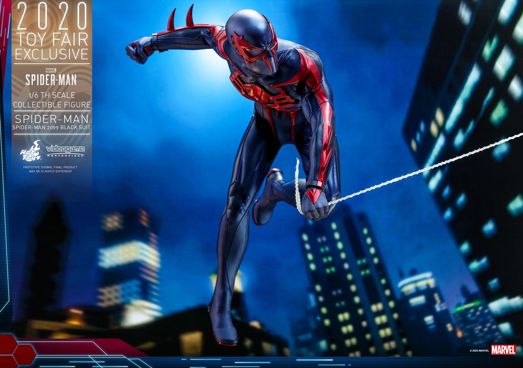 Hot Toys - MSM - Spider-Man (Spider-Man 2099 Black Suit) collectible figure_PR12