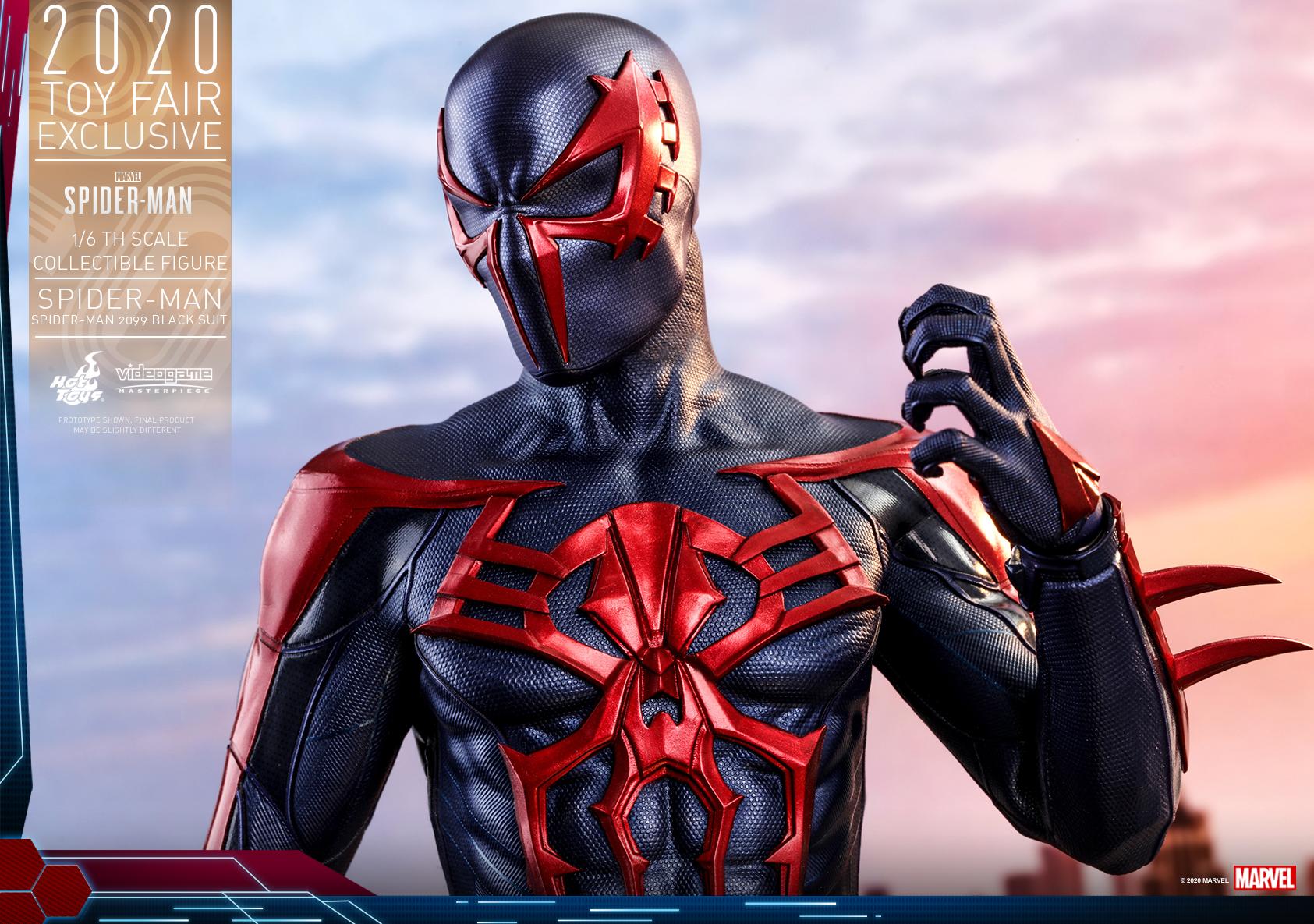 Hot Toys - MSM - Spider-Man (Spider-Man 2099 Black Suit) collectible figure_PR17