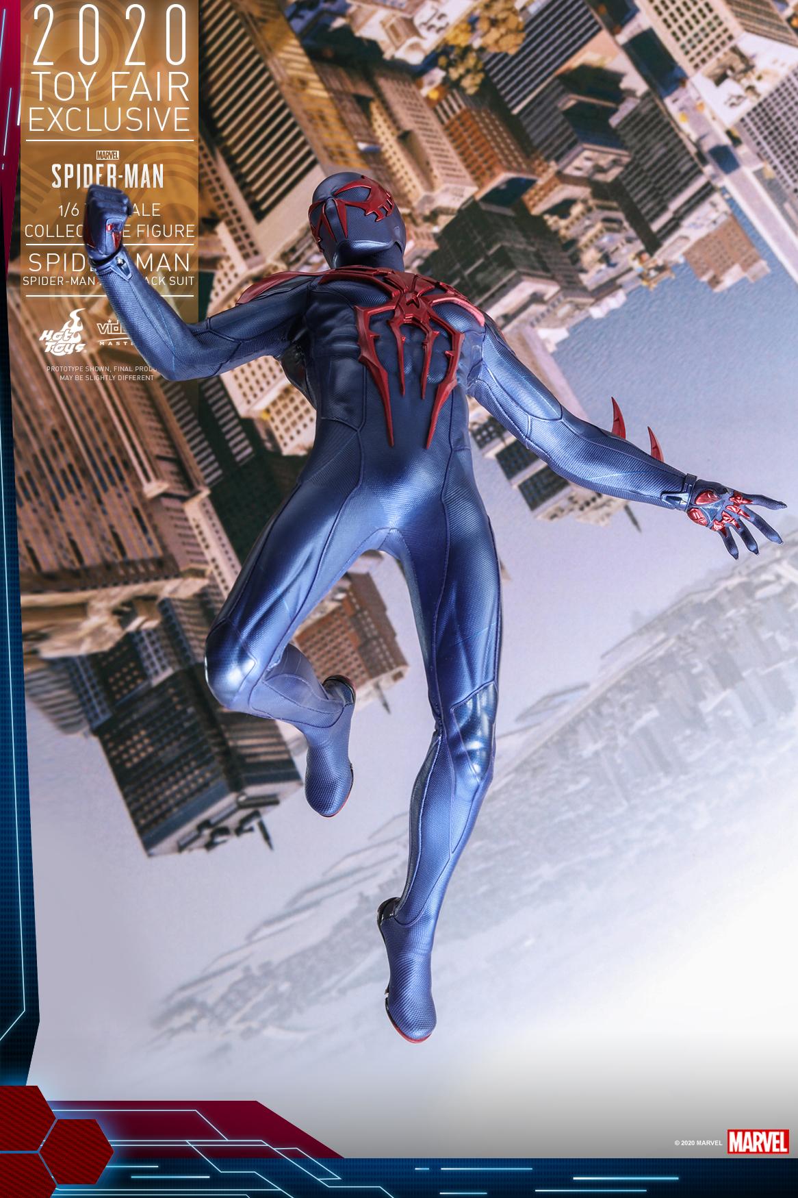 Hot Toys - MSM - Spider-Man (Spider-Man 2099 Black Suit) collectible figure_PR2