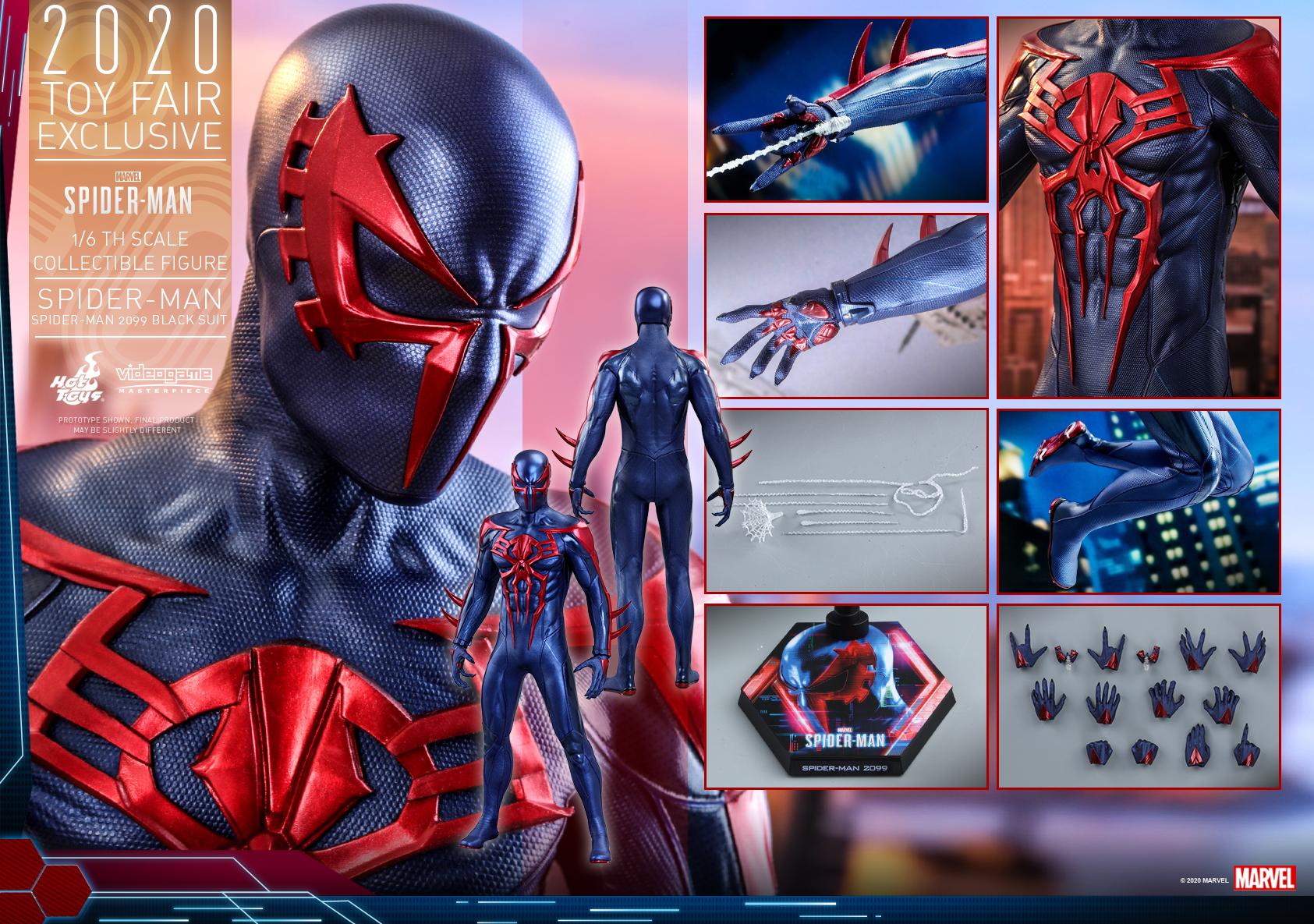 蜘蛛侠(2099黑色战衣)【暂只接受成功登记预购资格的顾客购买】
