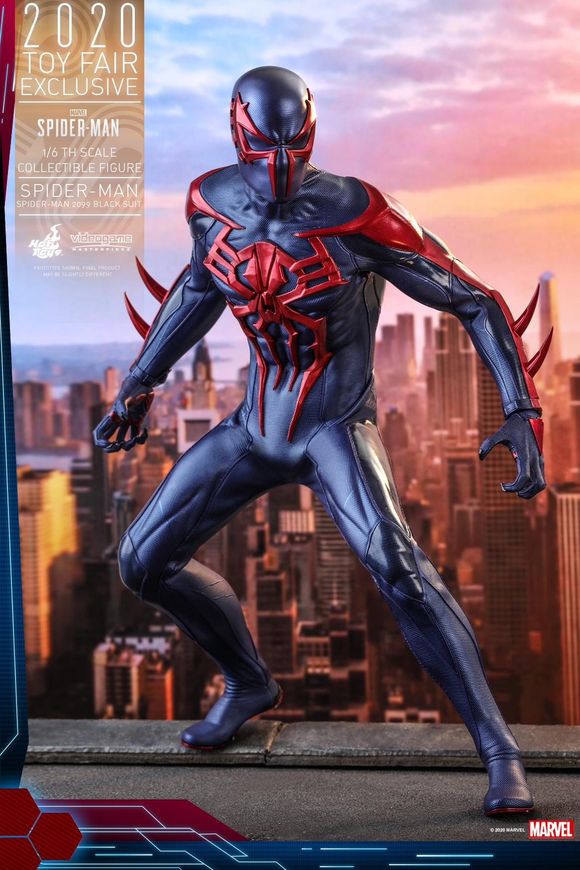 Hot Toys - MSM - Spider-Man (Spider-Man 2099 Black Suit) collectible figure_PR3