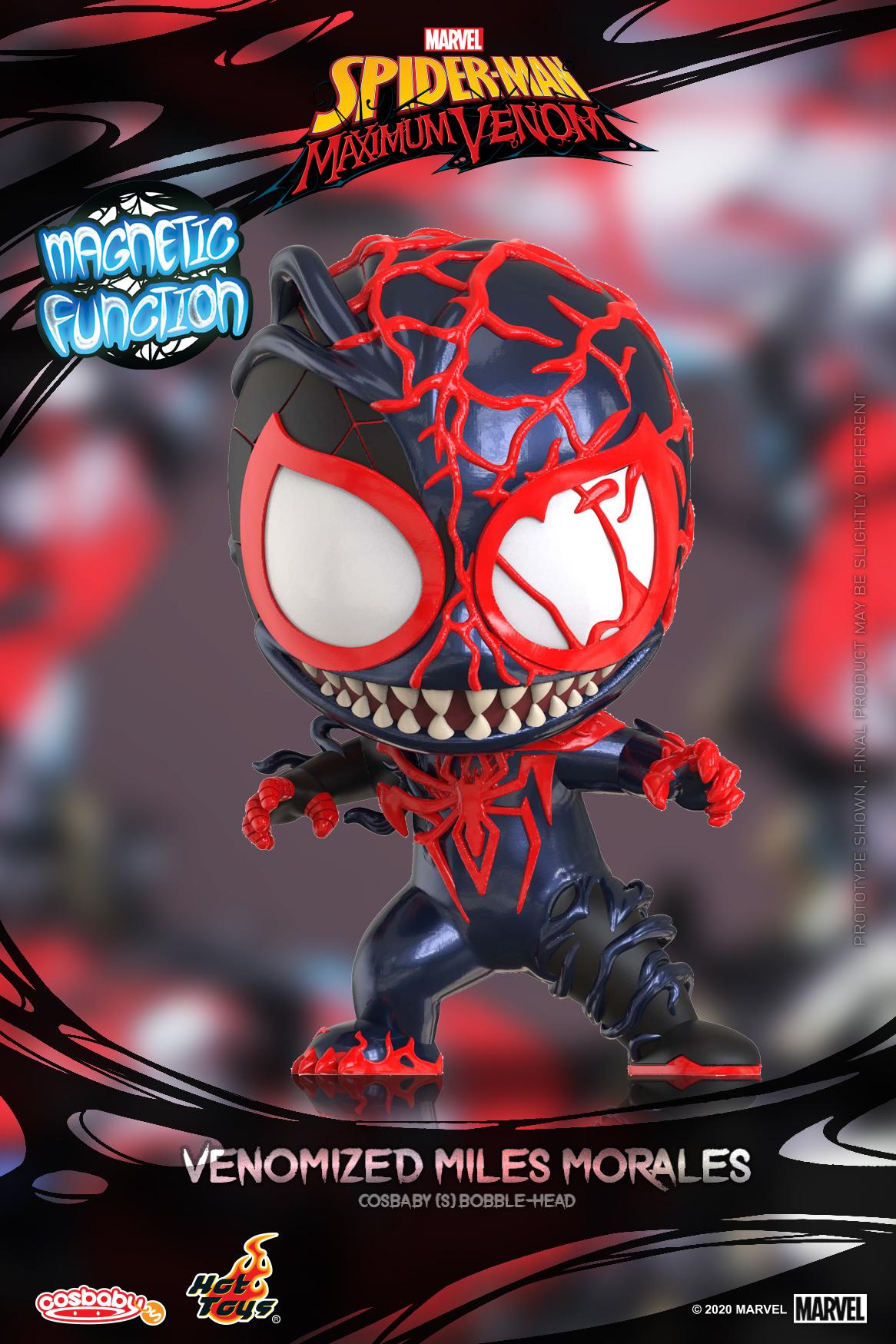 Hot Toys - SMMV - Venomized Miles Morales Cosbaby_PR1