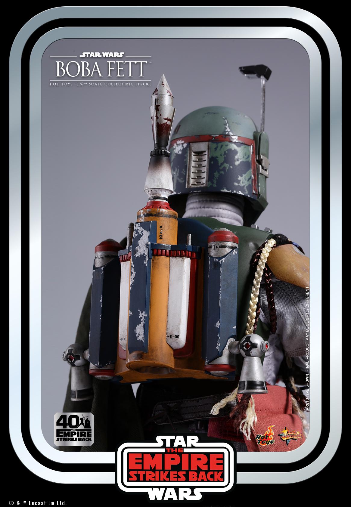 Hot Toys - SW - Boba Fett Collectible Figure (ESB 40)_PR10