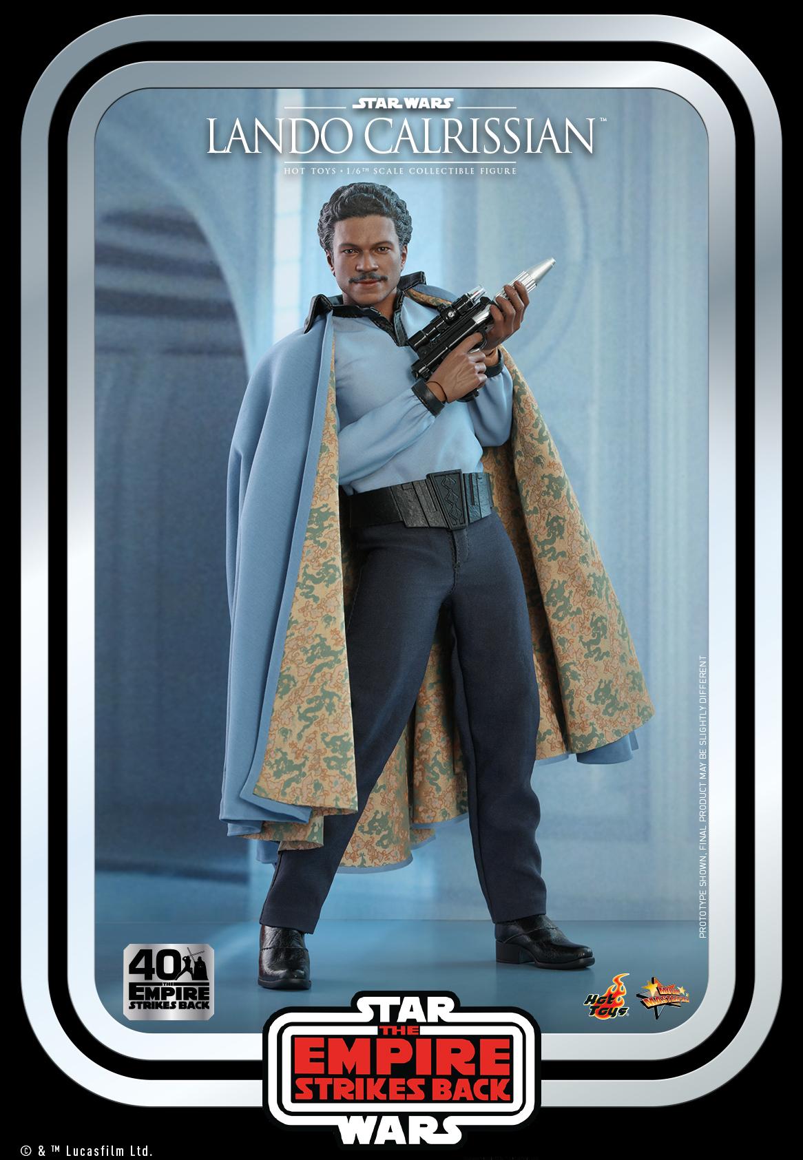Hot Toys - SW - Lando Calrissian Collectible Figure (ESB40)_PR2