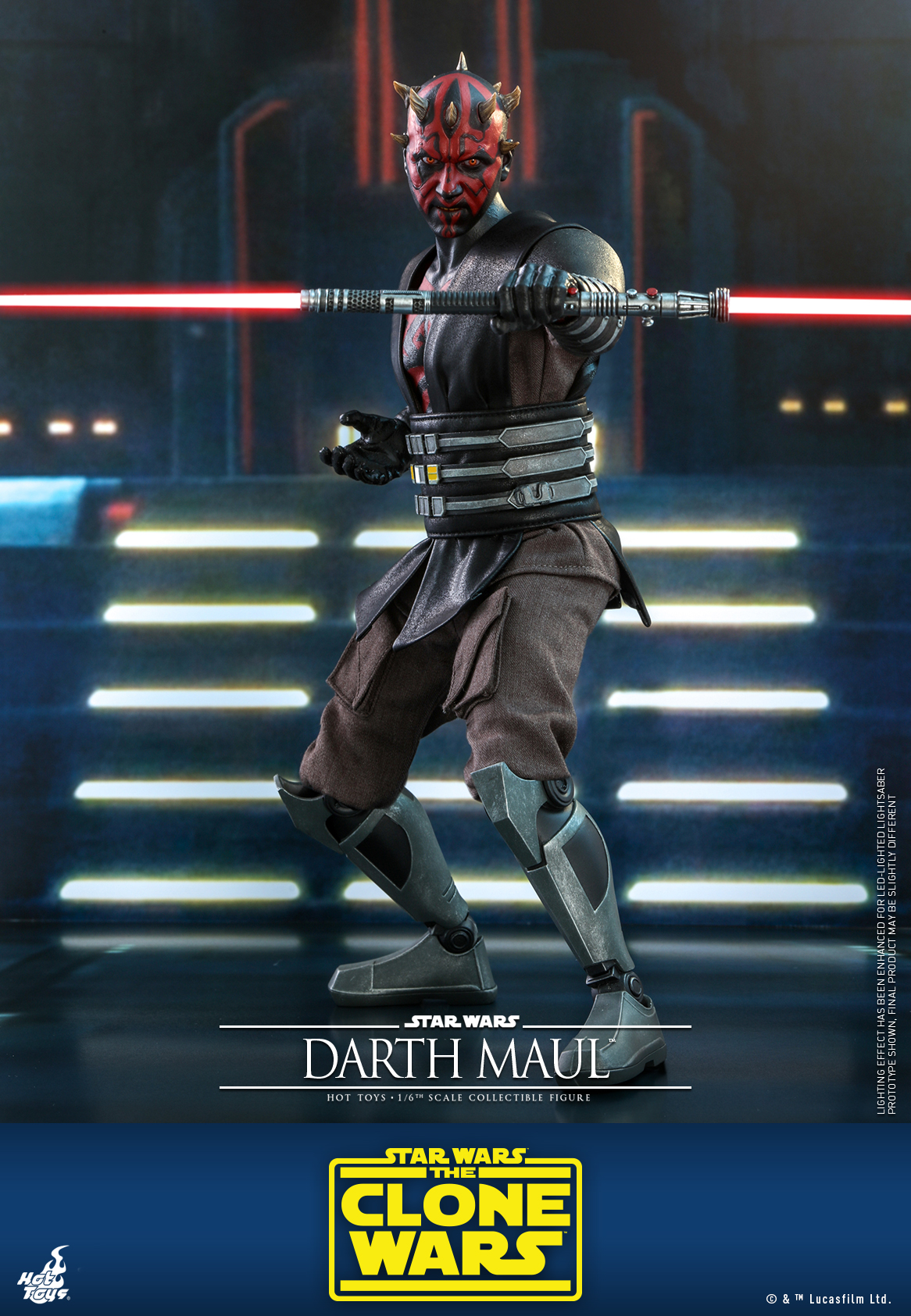 Hot Toys - SWCW - Darth Maul collectible figure_PR1