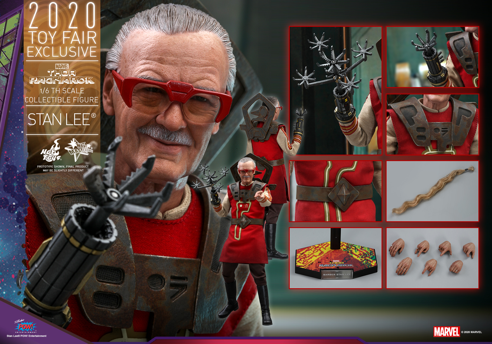Hot Toys - Thor 3 - Stan Lee collectible figure_PR18