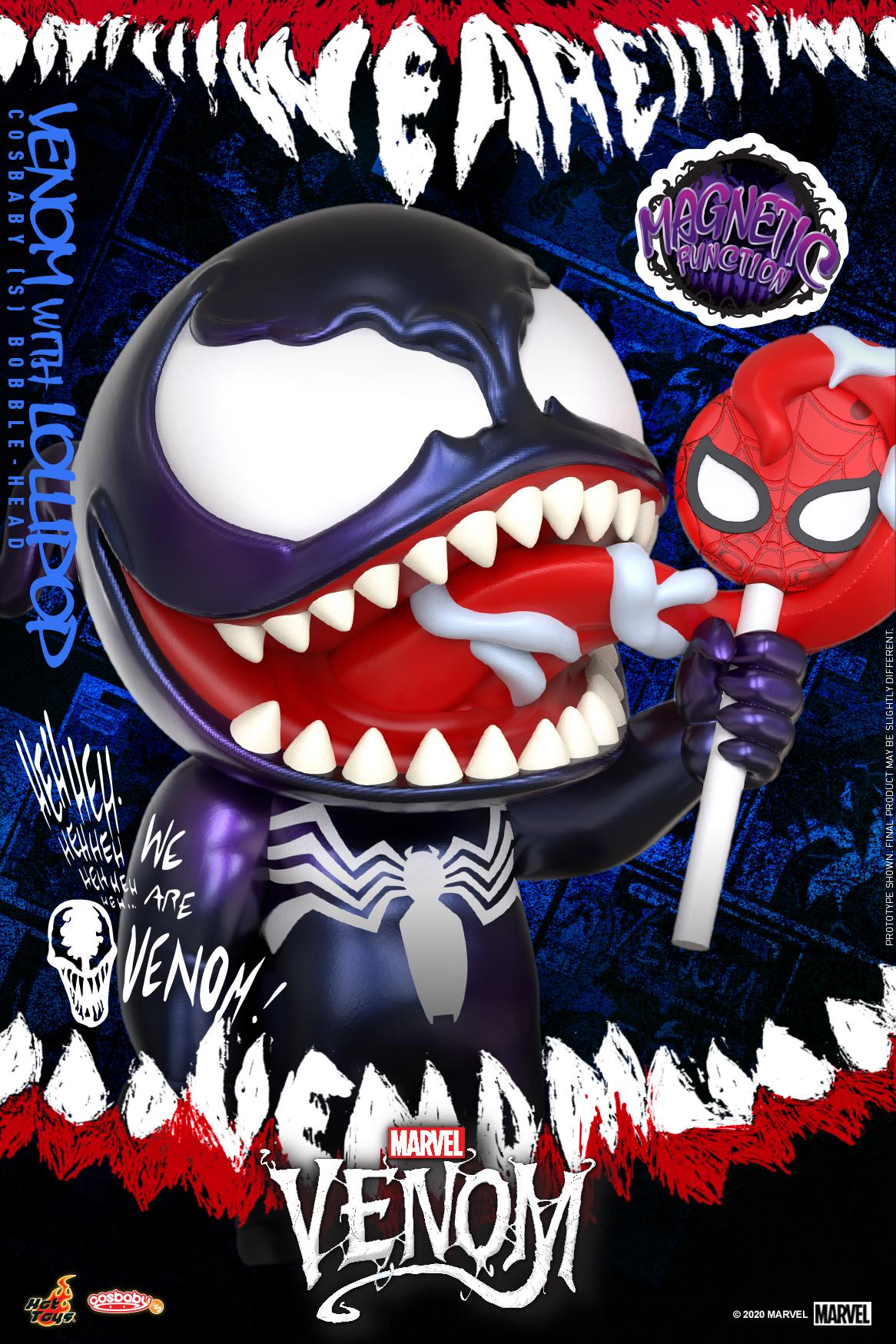 Hot Toys - Venom (Comic) - Venom with Lollipop Cosbaby_PR2