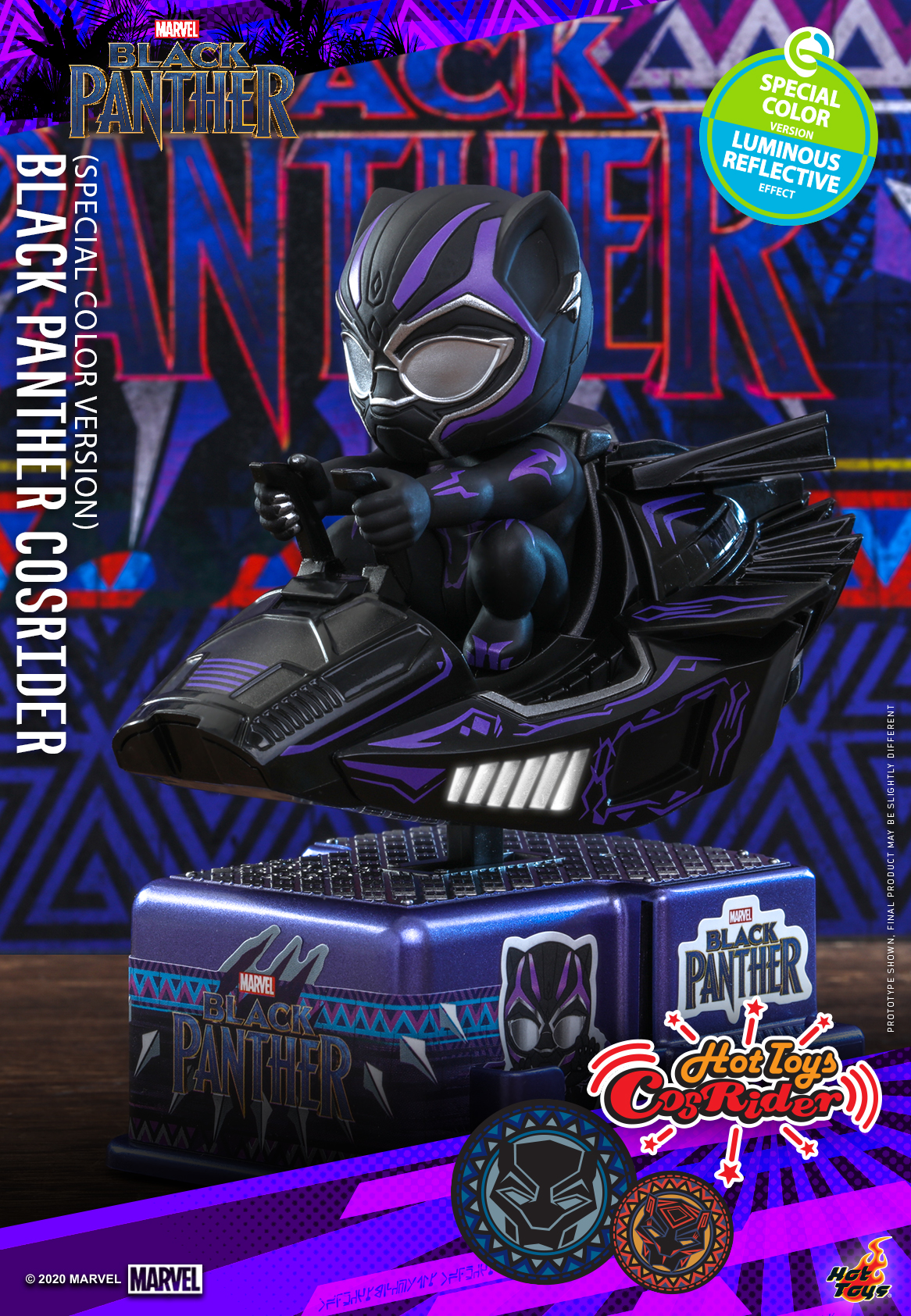 Hot Toys - BP - Black Panther (Special Color) CosRider_PR1