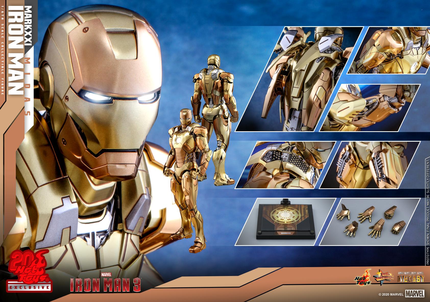 Hot Toys - IM3 - IM Mark XXI (Midas) collectible figure_PR18