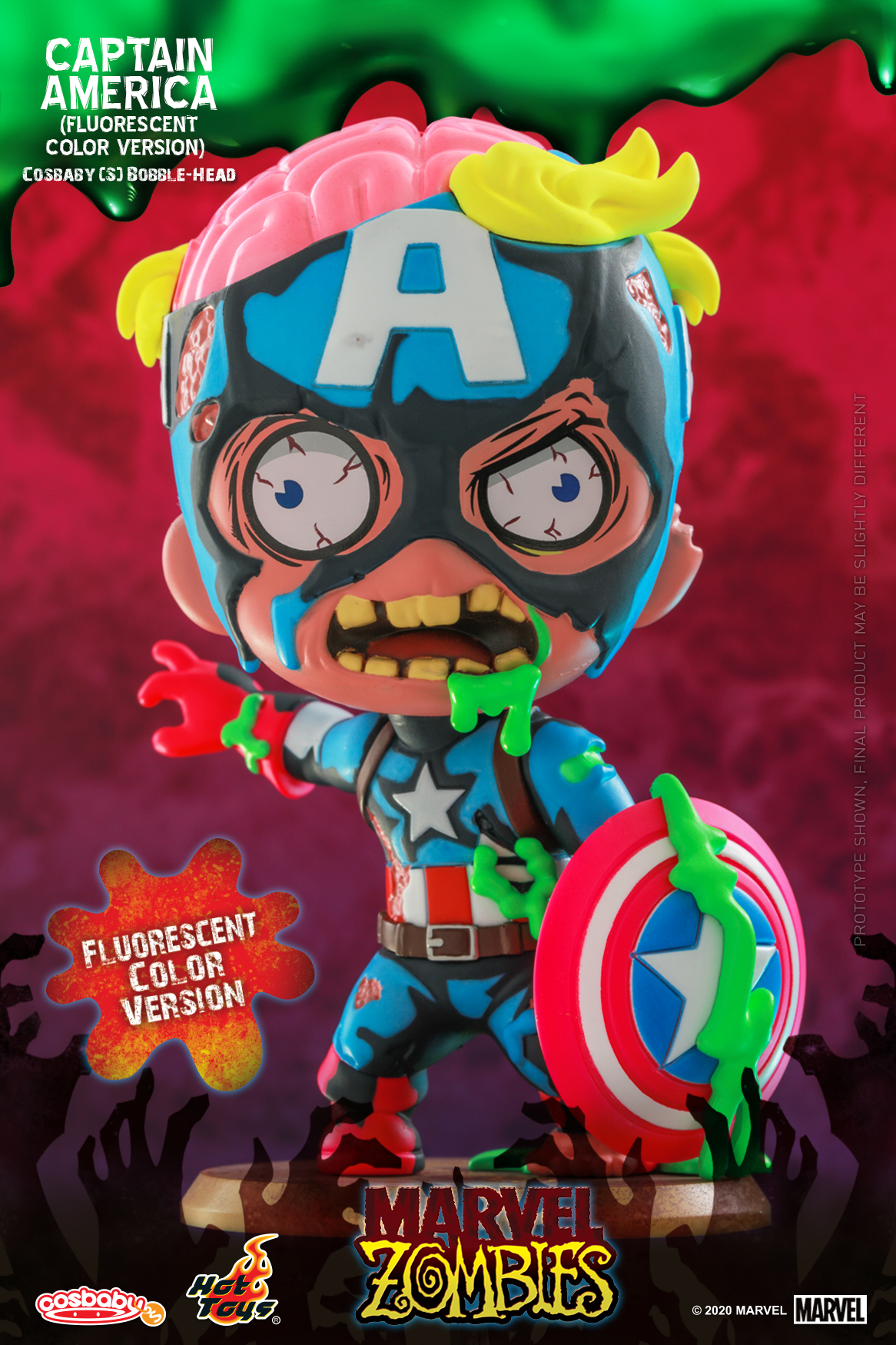 Hot Toys - MZ - Captain America (Fluorescent Color) Cosbaby_PR1
