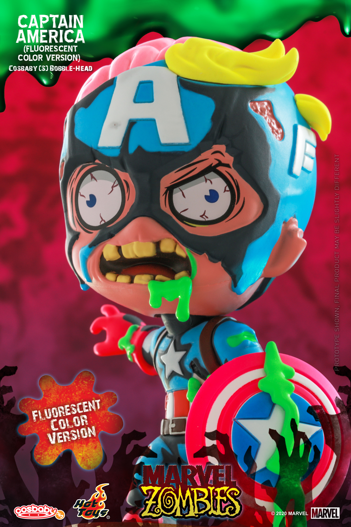 Hot Toys - MZ - Captain America (Fluorescent Color) Cosbaby_PR2