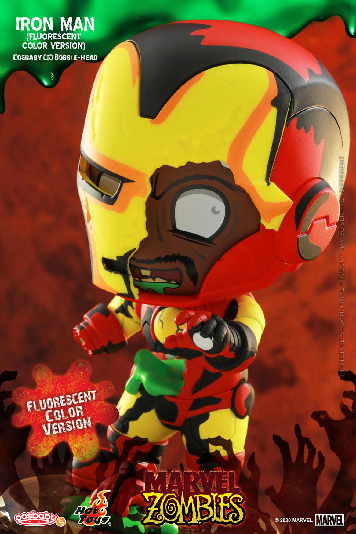 Hot Toys - MZ - Iron Man (Fluorescent Color) Cosbaby_PR2